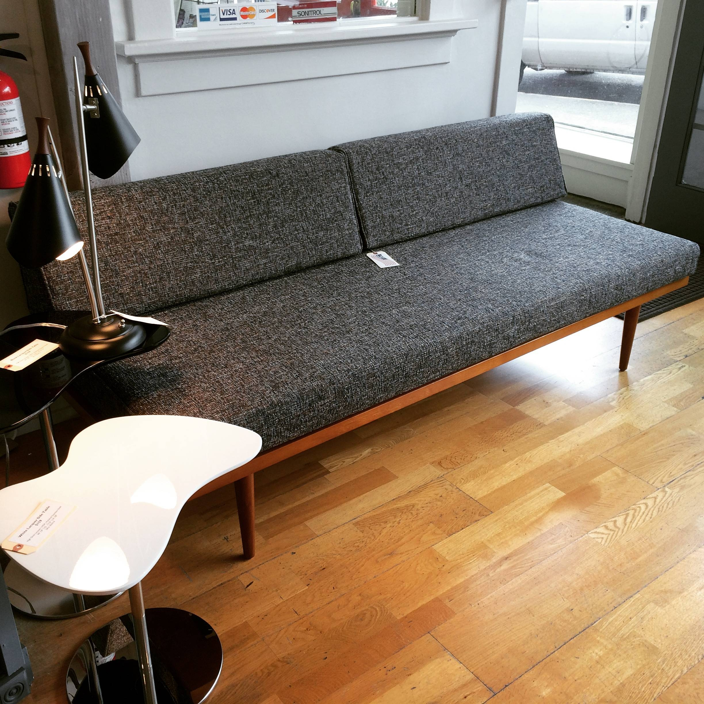 Mid Century Modern Daybed – Sofa Or Twin Bed! Handcrafted In Usa For Sofa Day Beds (View 22 of 30)
