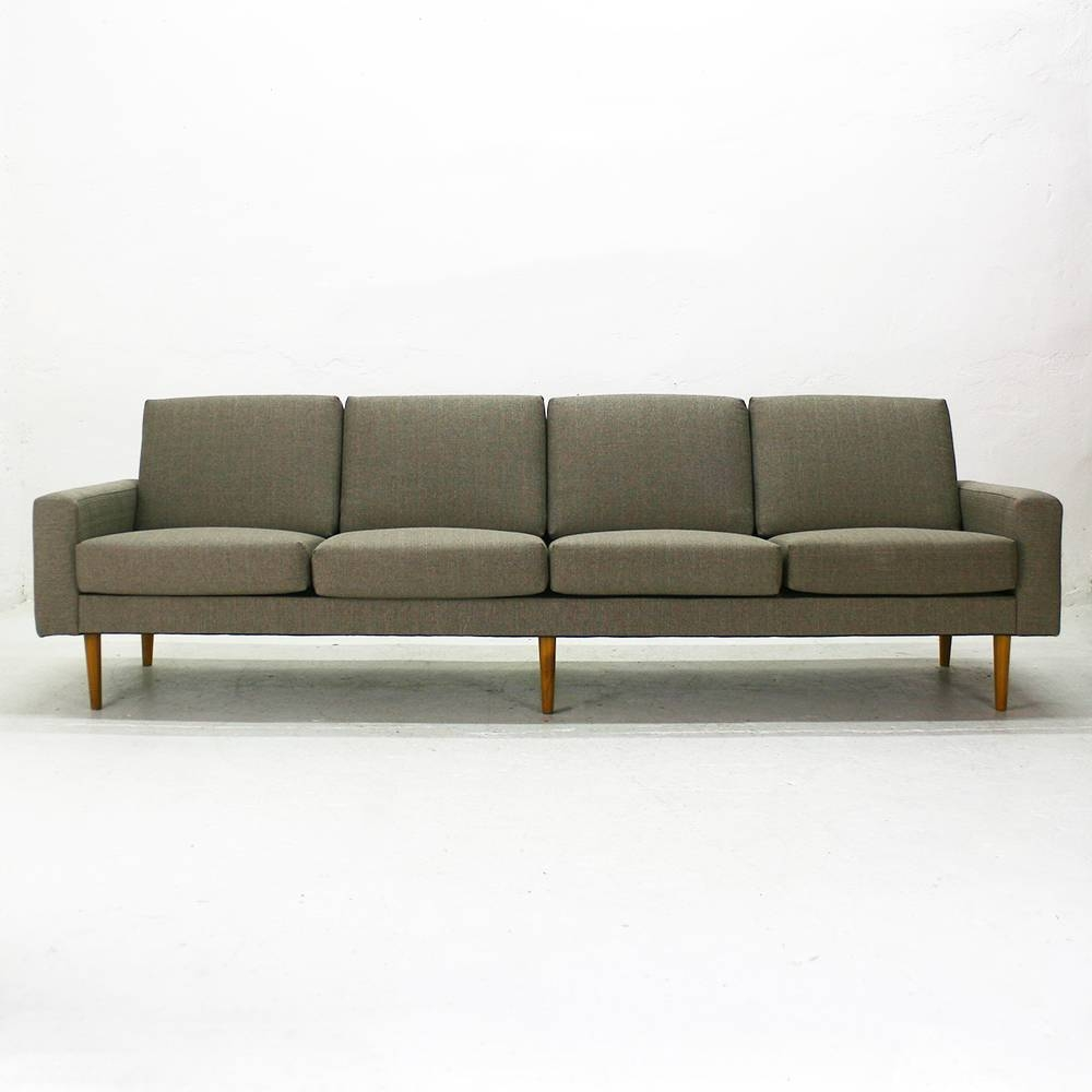 Mid-Century Modern Four-Seater Sofa For Sale At Pamono intended for Four Seater Sofas (Image 19 of 30)