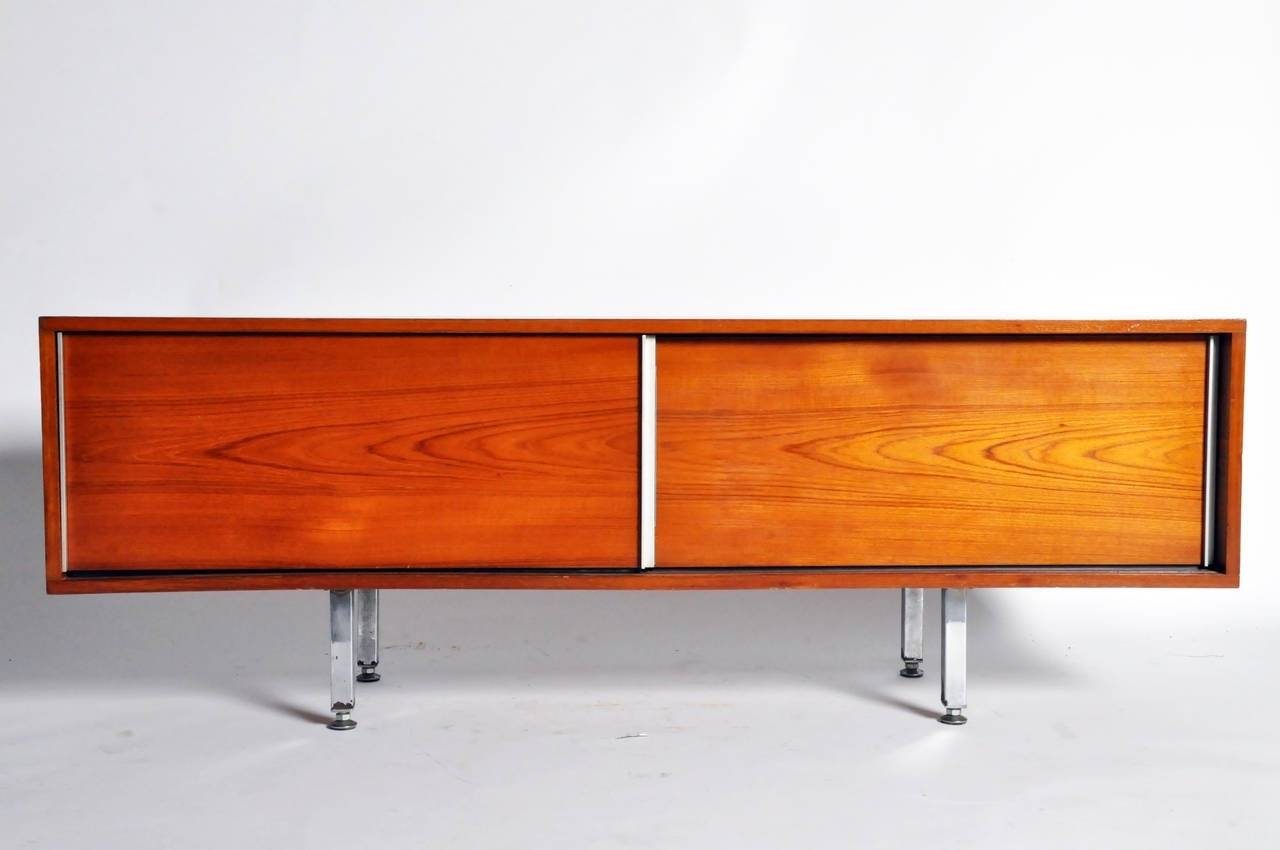 Mid-Century Modern Low-Lying Sideboardsgeorge Frydman For Sale in Low Sideboards (Image 14 of 30)