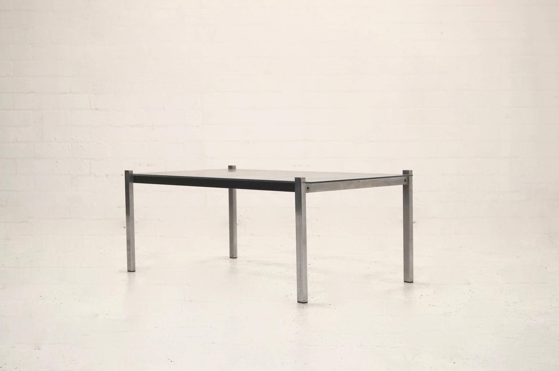 Mid Century Modern Metal And Glass Coffee Table, 1960S For Sale At Within Steel And Glass Coffee Tables (View 18 of 30)