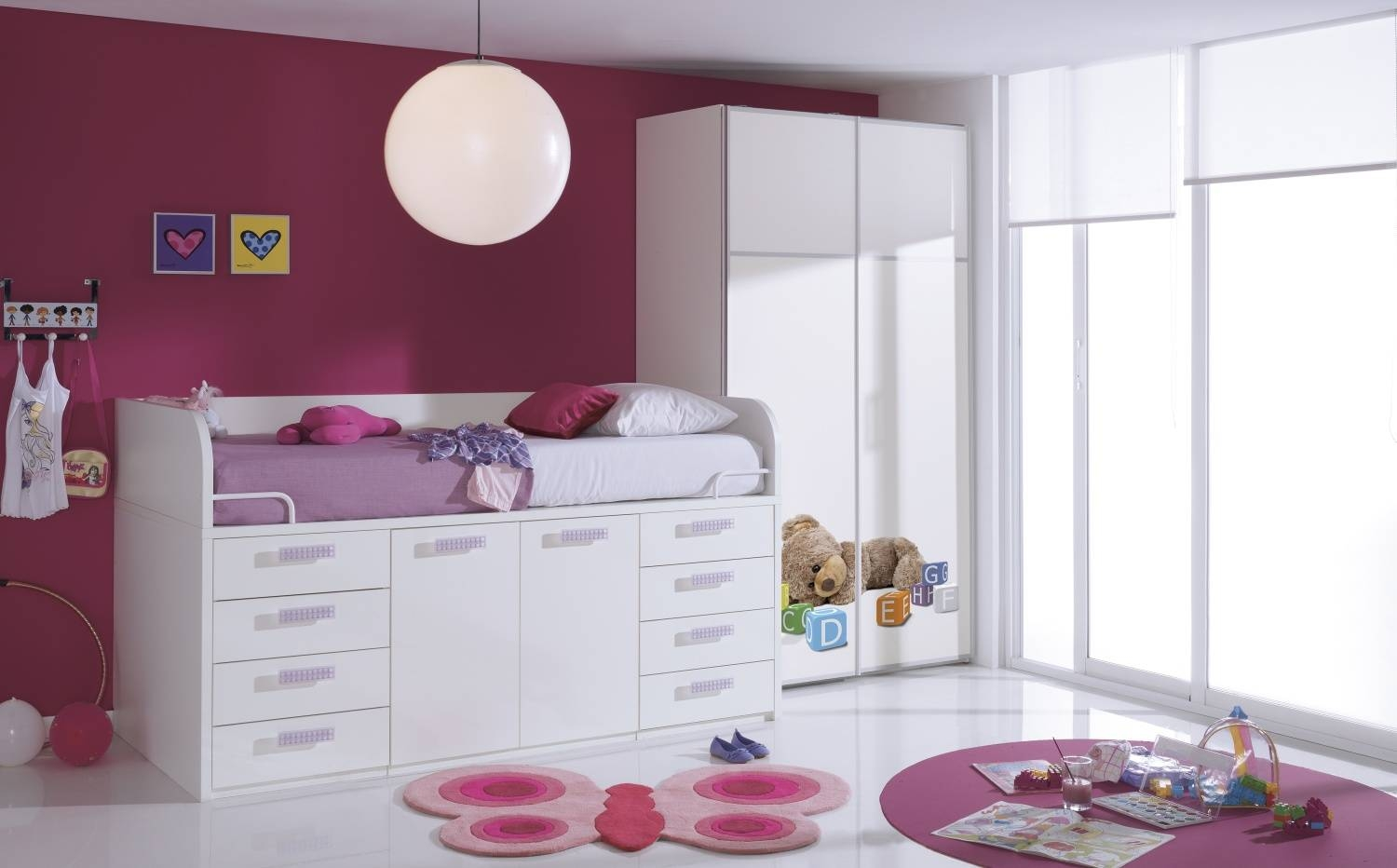 Mid Sleeper Cabin Bed | One Of The Best Storage Solutions For Kids with regard to Kids Cabin Beds With Wardrobes (Image 12 of 15)