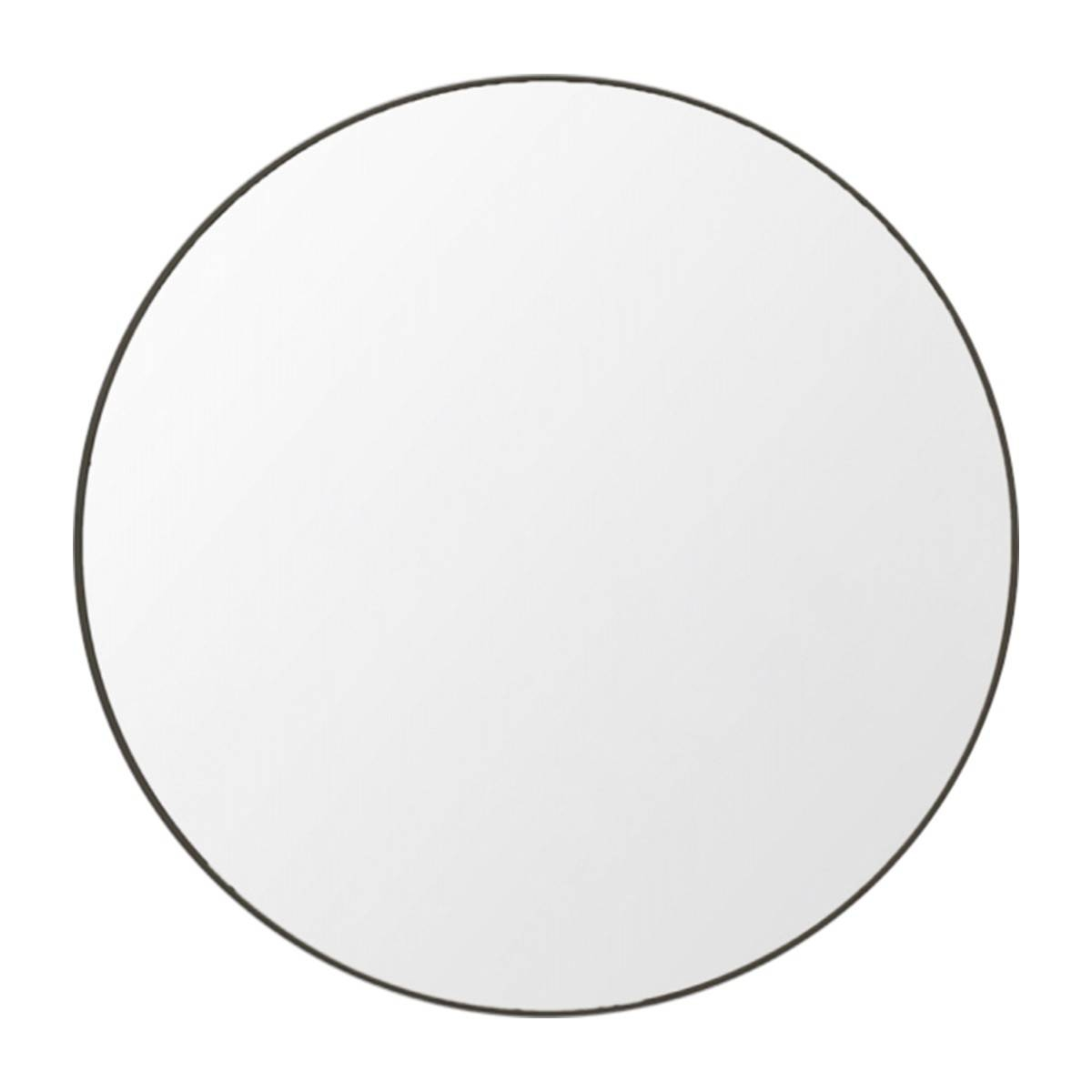 Middle Of Nowhere - Flynn Round Mirror (Black) - Modern Homewares pertaining to Black Circle Mirrors (Image 15 of 25)