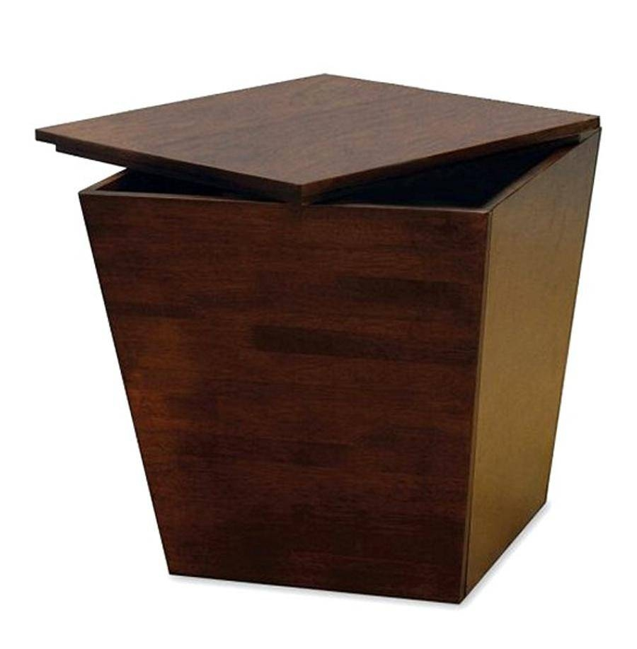 Middle Square Wooden Coffee Table With Storage within Square Coffee Table Storages (Image 20 of 30)