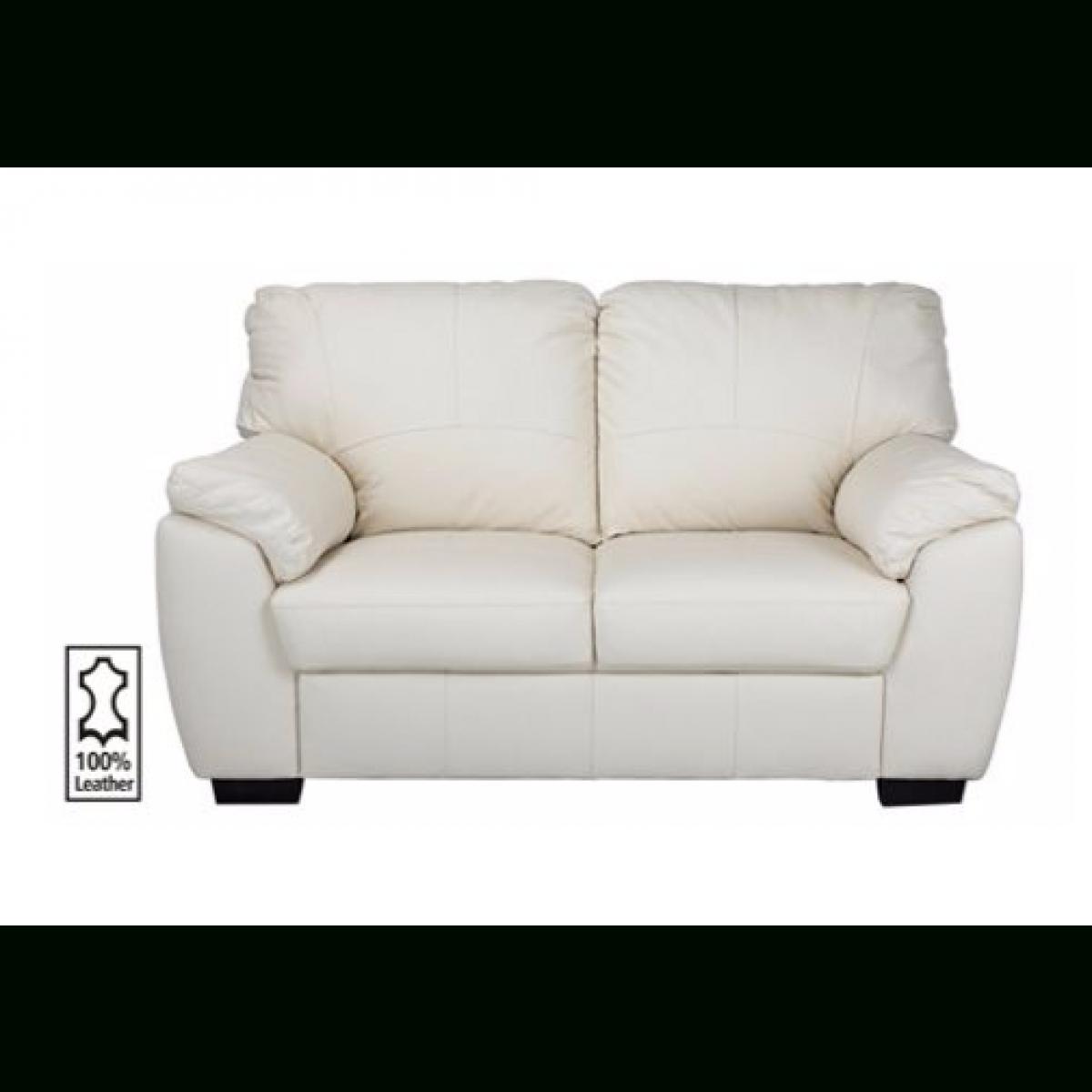 Milano Regular Leather Sofa - Ivory. - Furnico Village pertaining to Ivory Leather Sofas (Image 21 of 30)