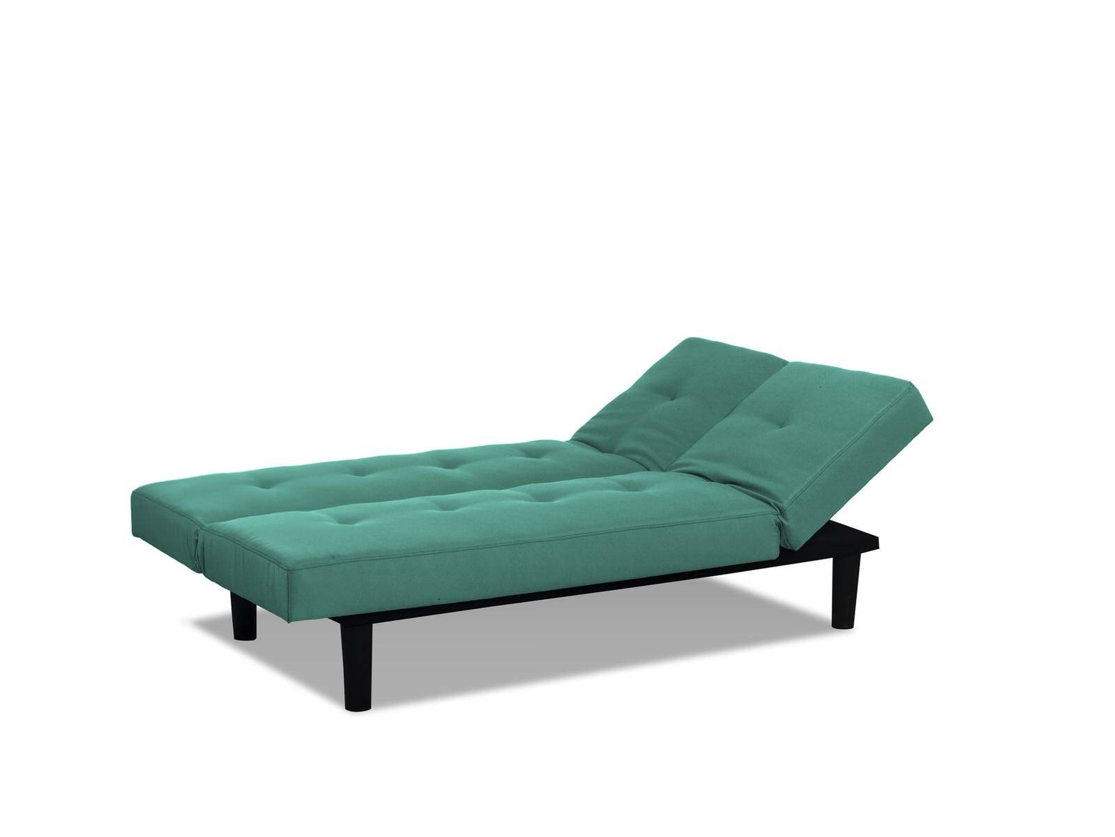 Mini Lounger Convertible Sofa Bed Tealserta / Lifestyle with regard to Mini Sofa Beds (Image 16 of 30)