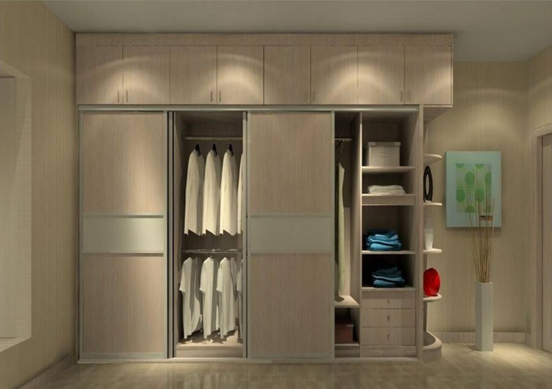 Minimalist Bedroom : Minimalist Bedroom Wardrobe Ideas Design Dezz pertaining to Bedroom Wardrobe Storages (Image 23 of 30)