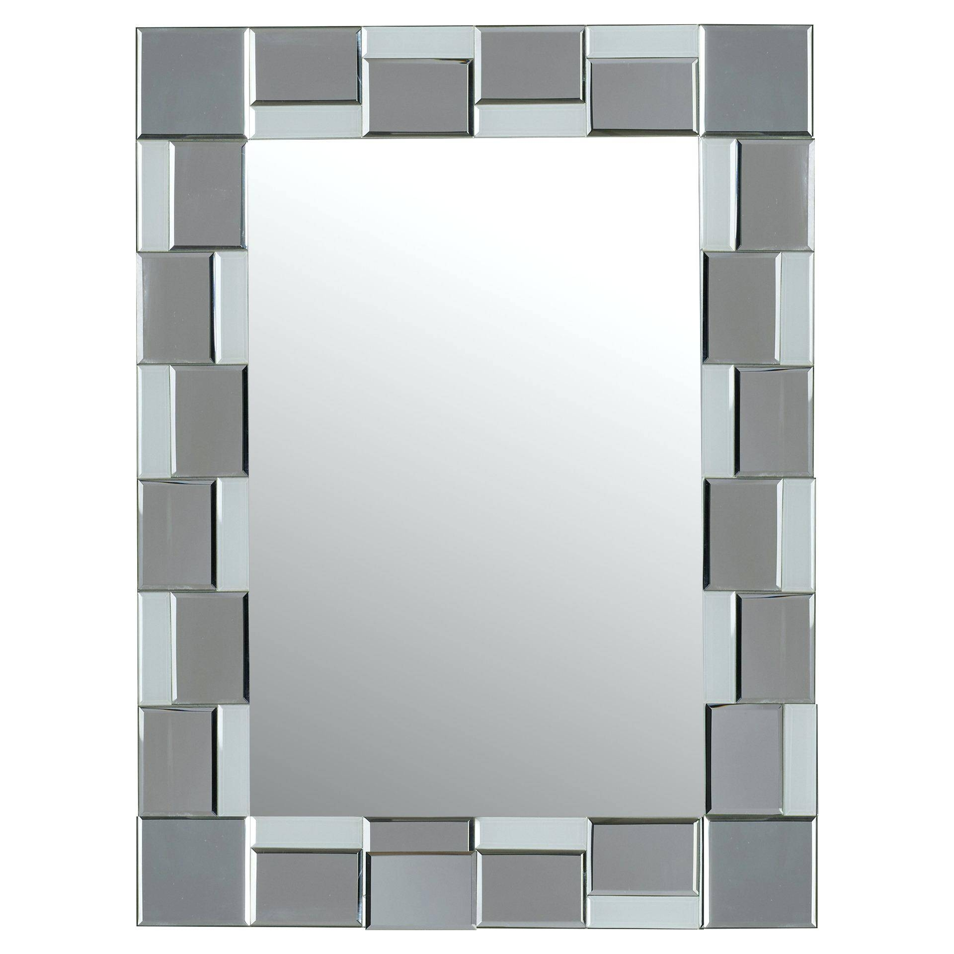 Mirror A Tekema Rectangle Frameless Wallframeless Wall Mirrors For with Full Length Frameless Wall Mirrors (Image 14 of 25)