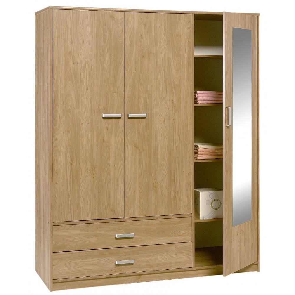 Mirror Design Ideas: Large Gallery 3 Door Mirrored Wardrobe within Three Door Mirrored Wardrobes (Image 12 of 15)