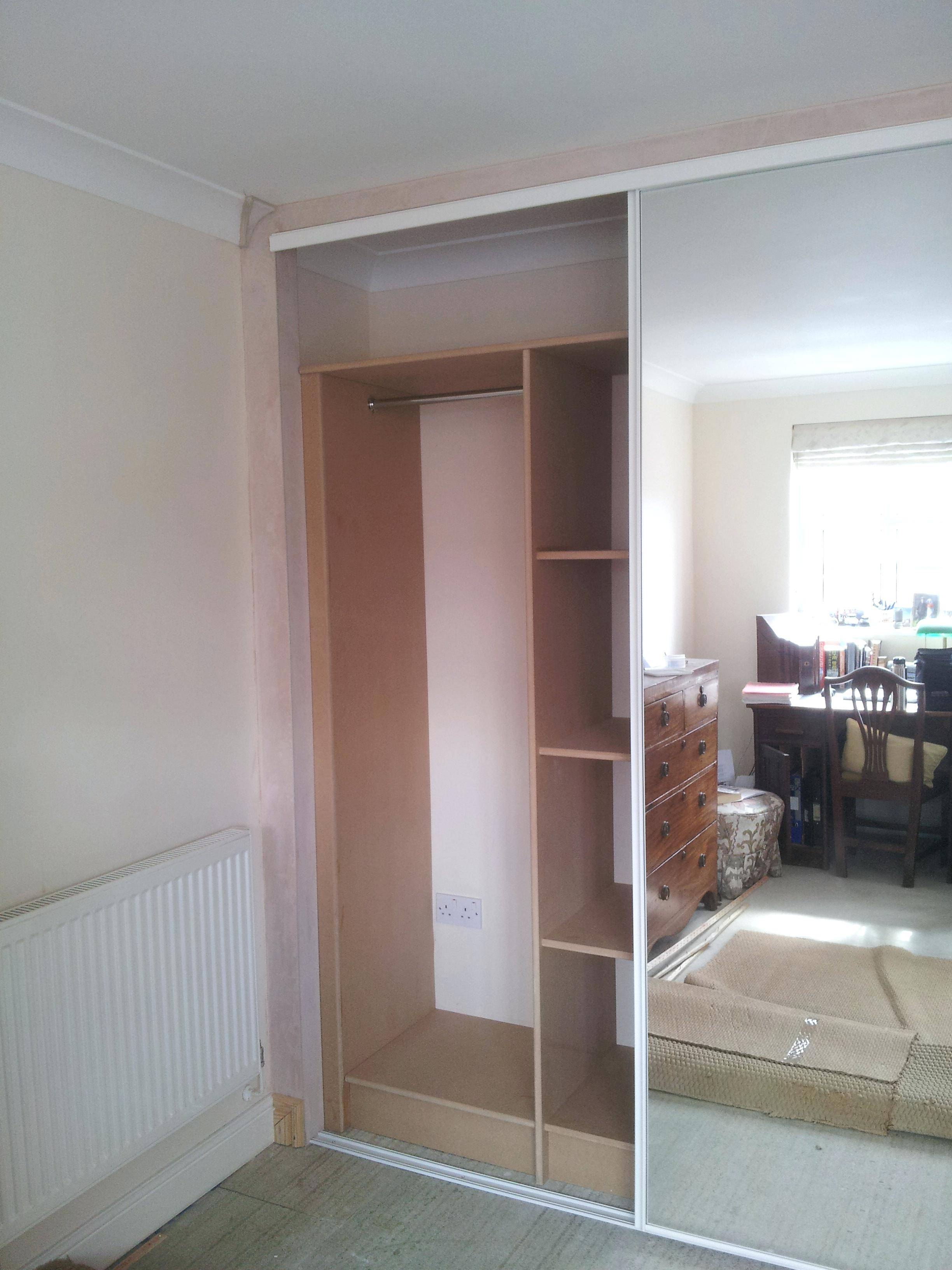 Mirror Fitted Wardrobes – Amlvideo with regard to Cheap Wardrobes (Image 11 of 15)