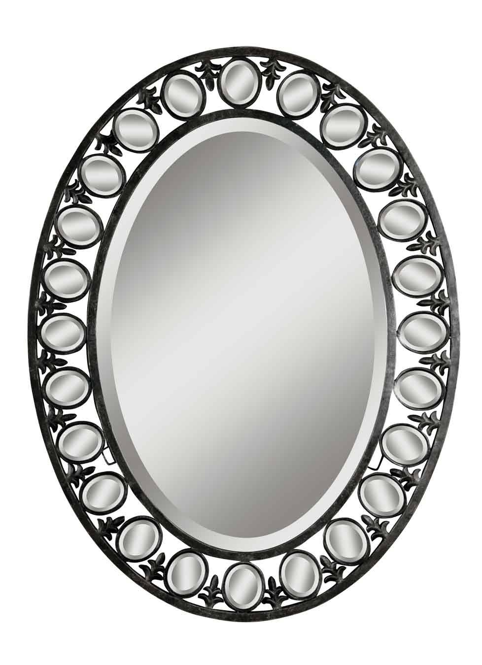 Mirror Lady - Welcome To The Web's Best Mirror Store for Silver Oval Mirrors (Image 13 of 25)
