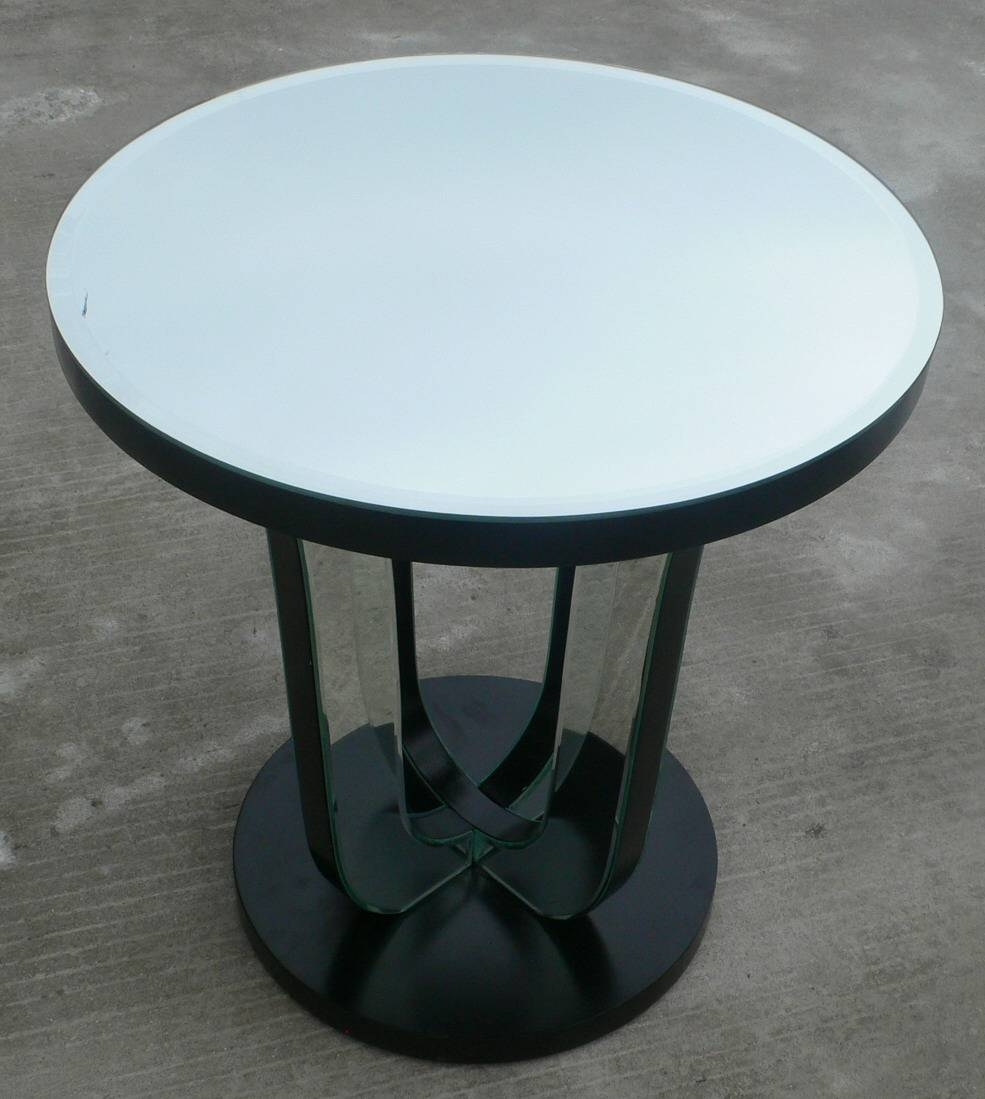 Mirrored Coffee Table With Silver ~ Home Decorations : Mirrored for Round Mirrored Coffee Tables (Image 21 of 30)