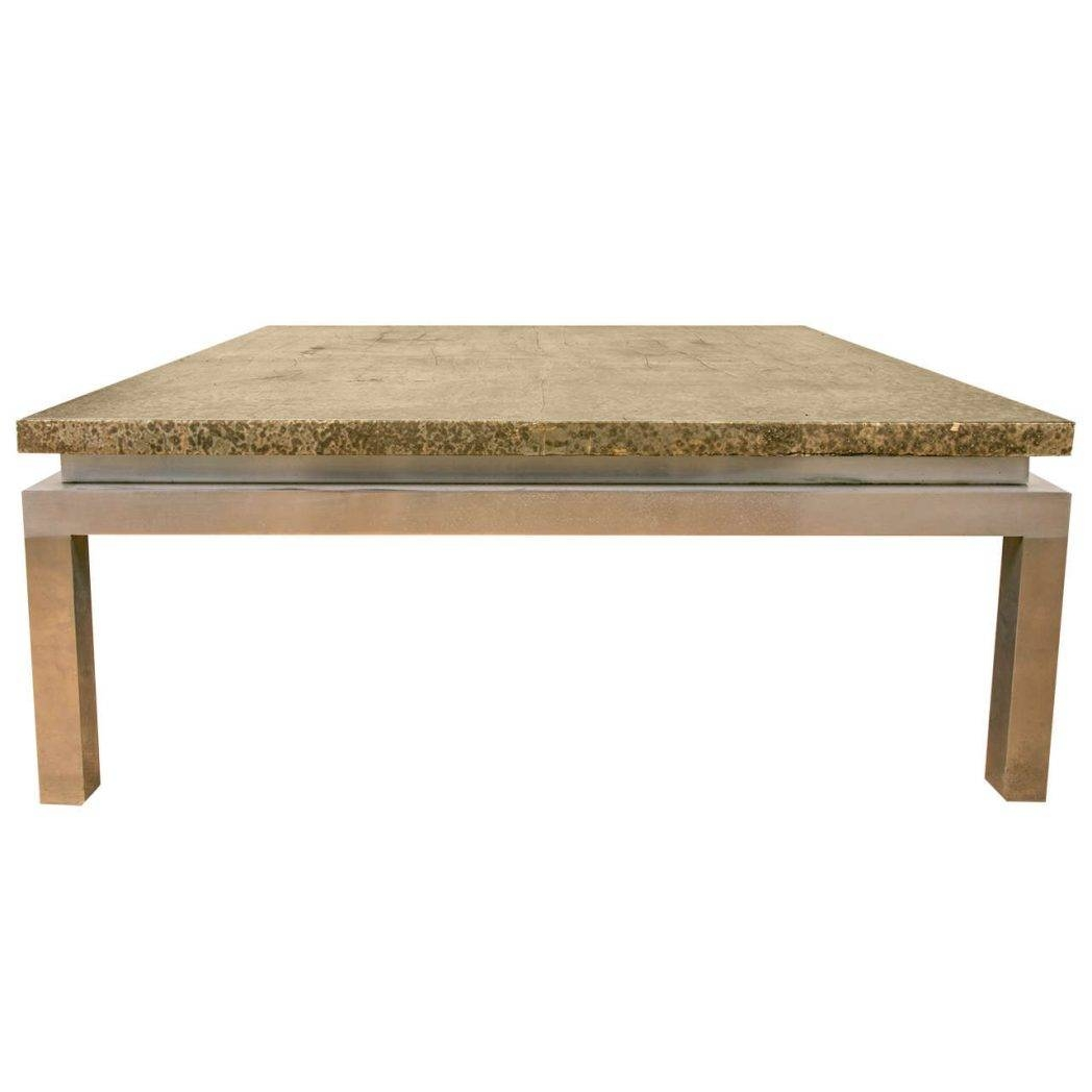 Lovely Mirrored Coffee Tables Rustic Square Table Big / Thippo Within Big Square  Coffee Tables (Image
