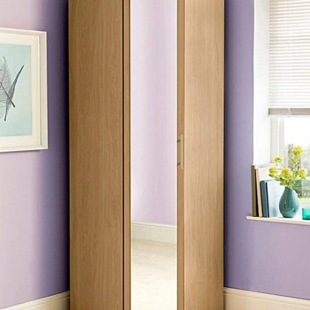 Mirrored Corner Wardrobe | Wardrobe Designs Furniture within Corner Mirrored Wardrobes (Image 8 of 15)