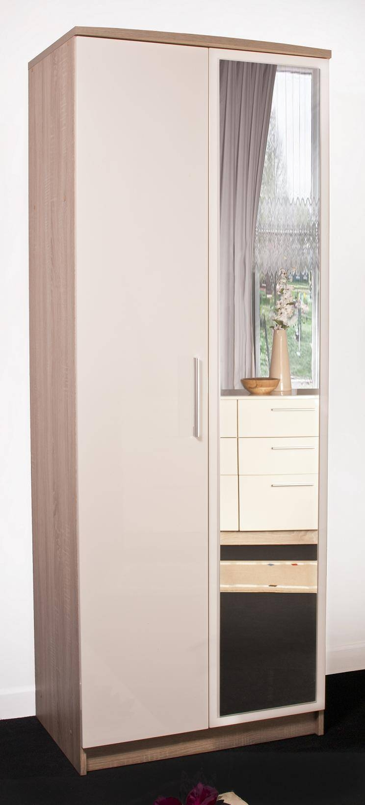 Mirrored Doors : Andre Victoire: Furniture Delivered And Assembled in Oak Mirrored Wardrobes (Image 7 of 15)