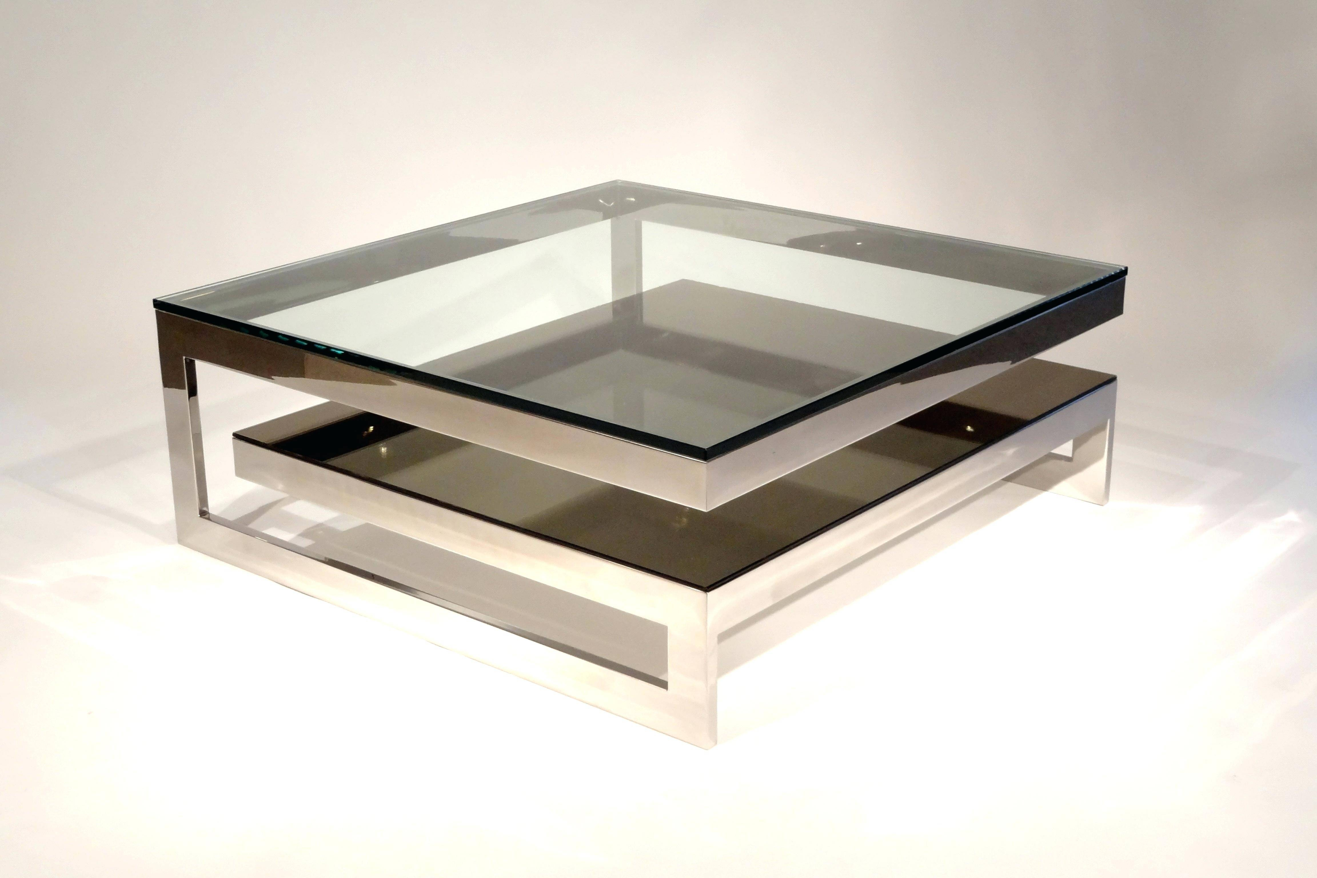 Mirrored Glass Sofa Table | Sofas Decoration Inside Coffee Tables Mirrored (View 22 of 30)