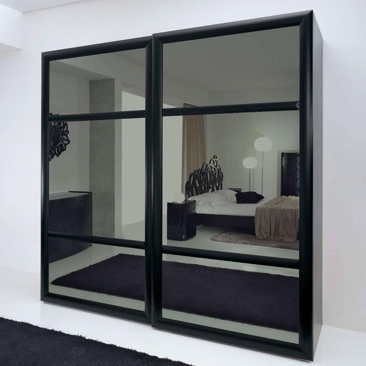 Mirrored Sliding Closet Doors. Sliding Door Great Sliding Glass inside Dark Wood Wardrobe Doors (Image 19 of 30)