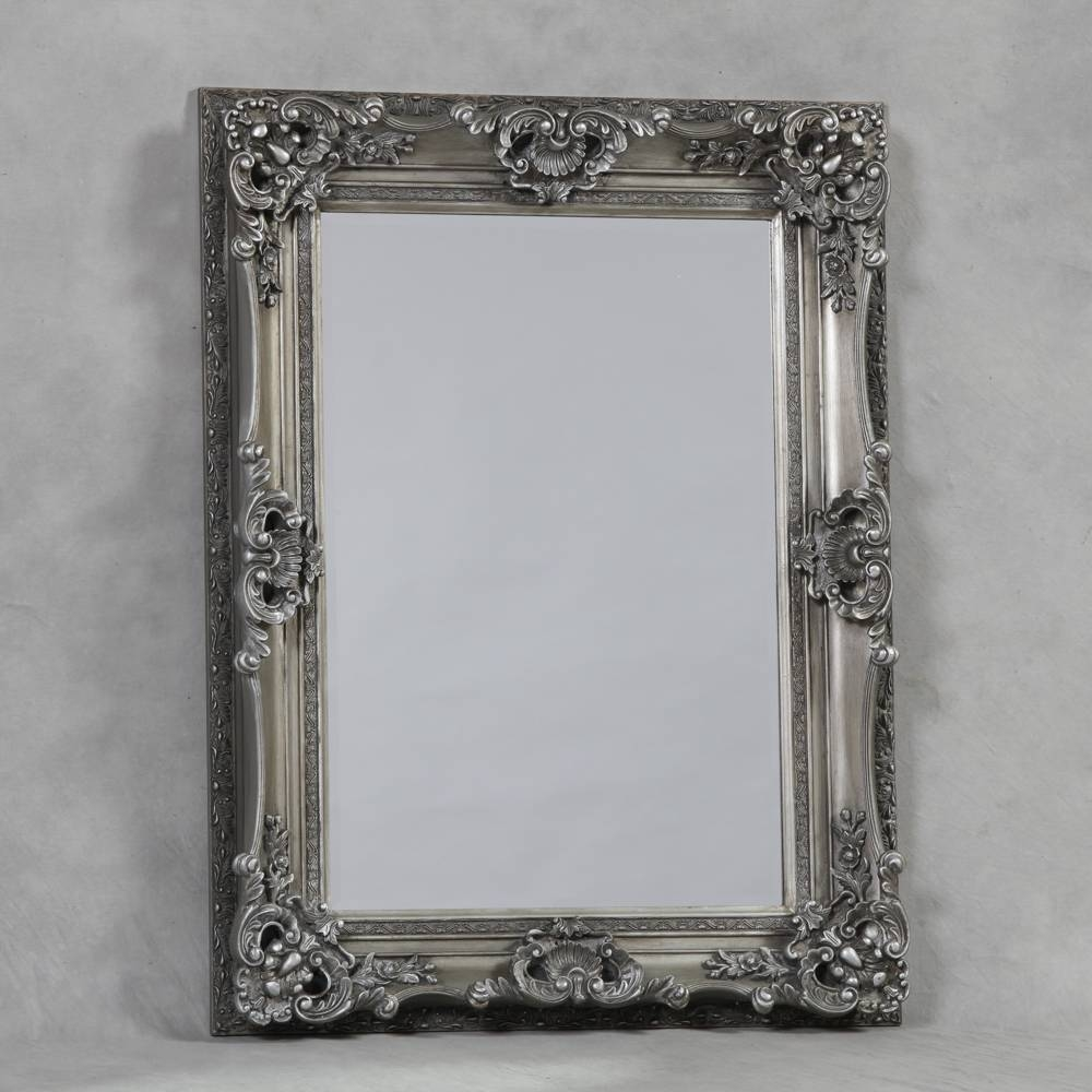 Mirrors And More » Wall Mirrors – Medium within Small Silver Mirrors (Image 18 of 25)
