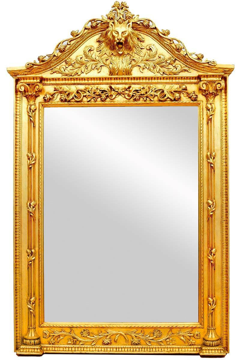 Mirrors Collection - Belle Epoque Style Entryway Mirrors, French pertaining to Gold Rococo Mirrors (Image 22 of 25)