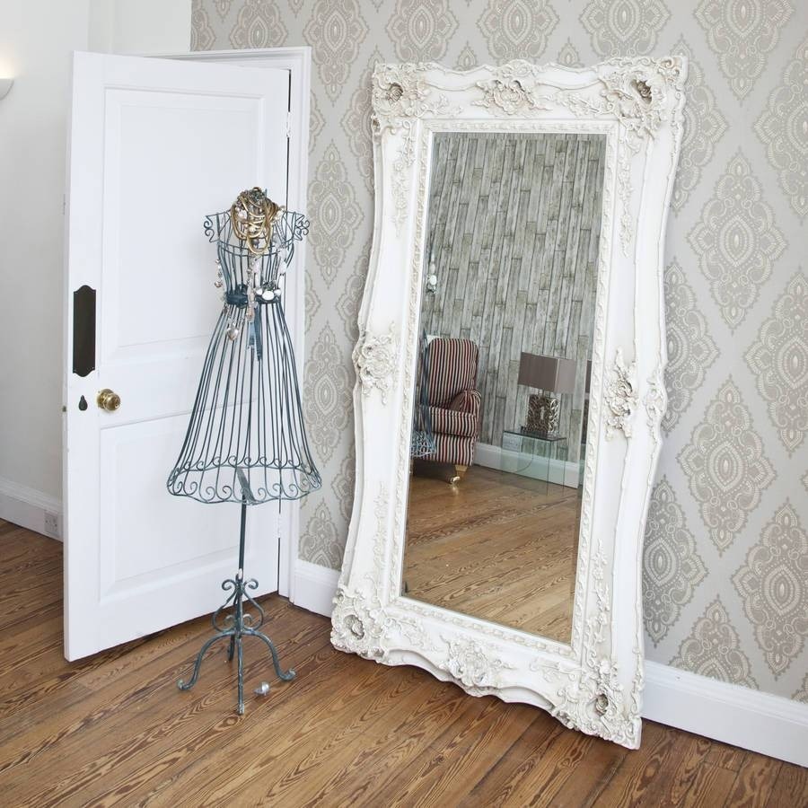 Mirrors Ideas For Interior And Decoration in Ivory Ornate Mirrors (Image 13 of 25)