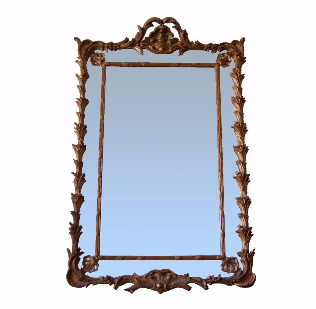 Mirrors Napoléon Iii | Antiques In France inside Mirrors With Blue Frame (Image 17 of 25)