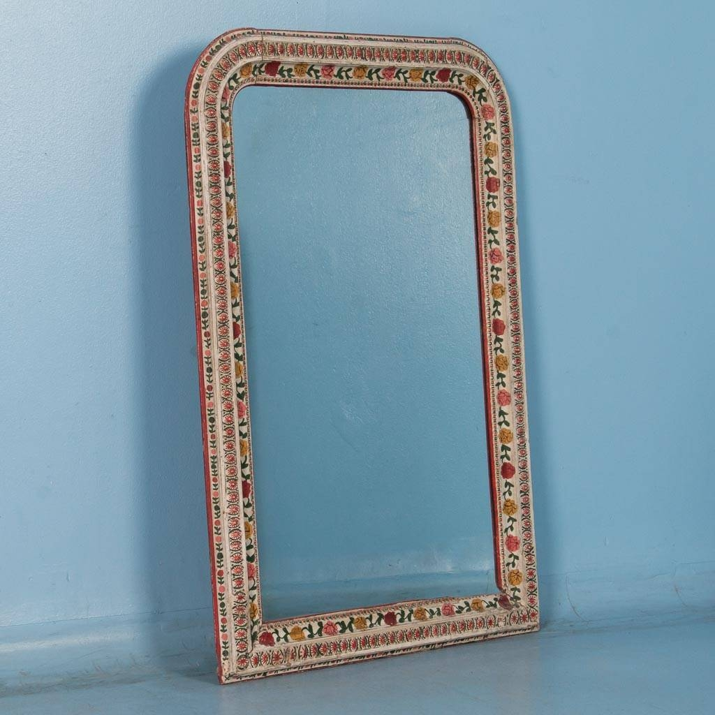 Mirrors | Scandinavian Antiques | Antique Mirrors throughout Mirrors With Blue Frame (Image 19 of 25)