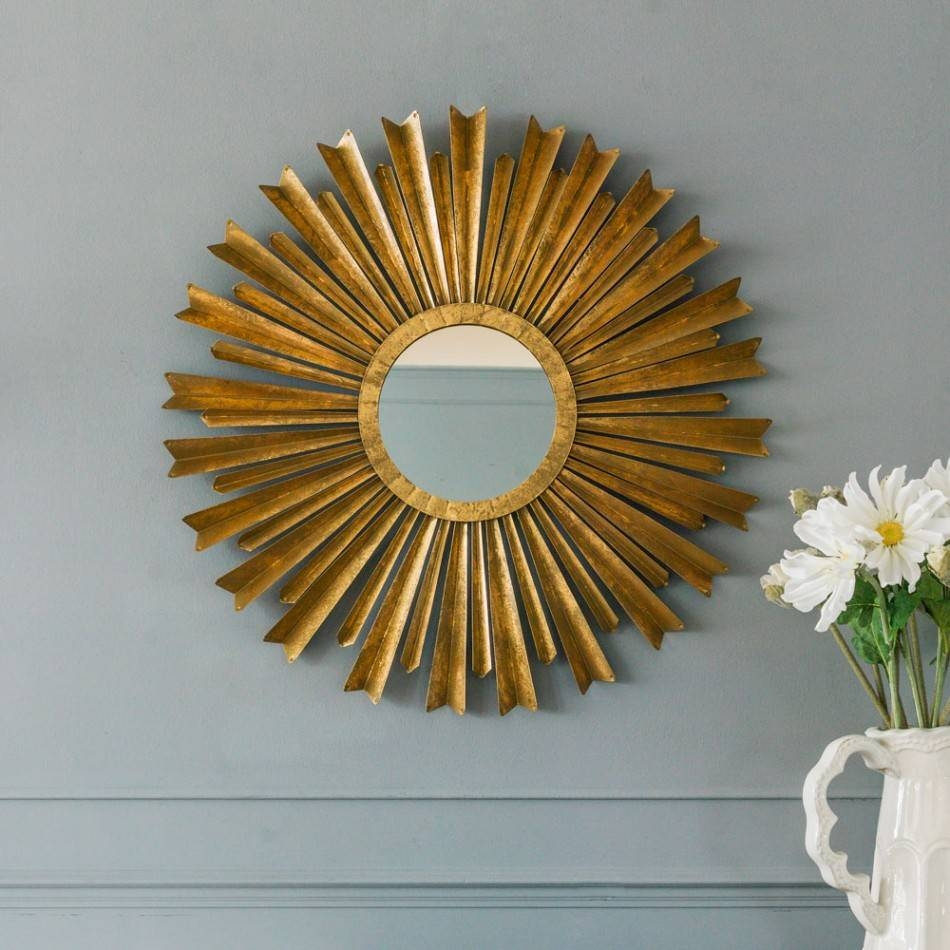 Mirrors Sunburst in Bronze Starburst Mirrors (Image 20 of 25)