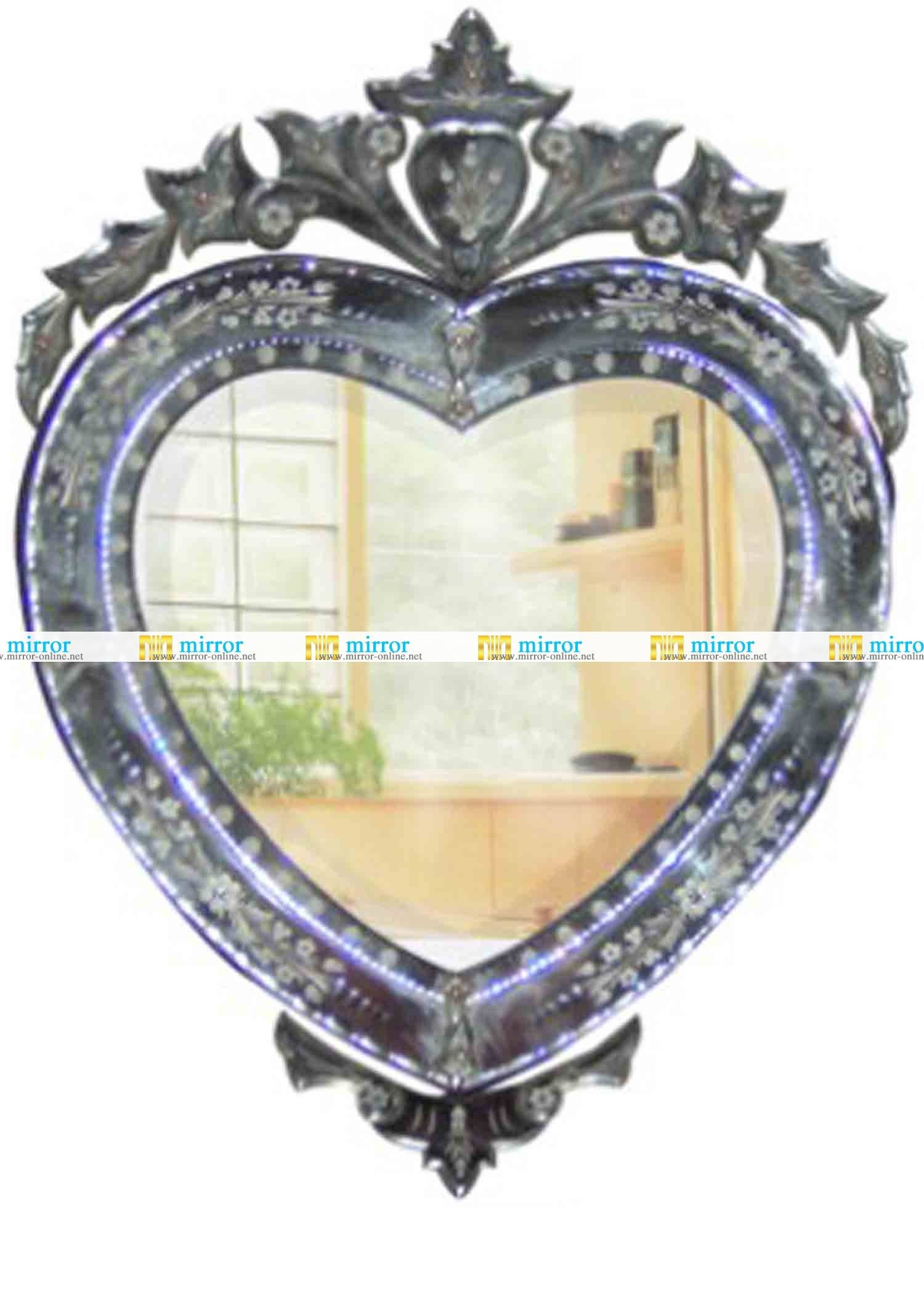 Mirrors Supply Market, Mirrors Manufacturers, Mirrors Suppliers for Venetian Heart Mirrors (Image 19 of 25)
