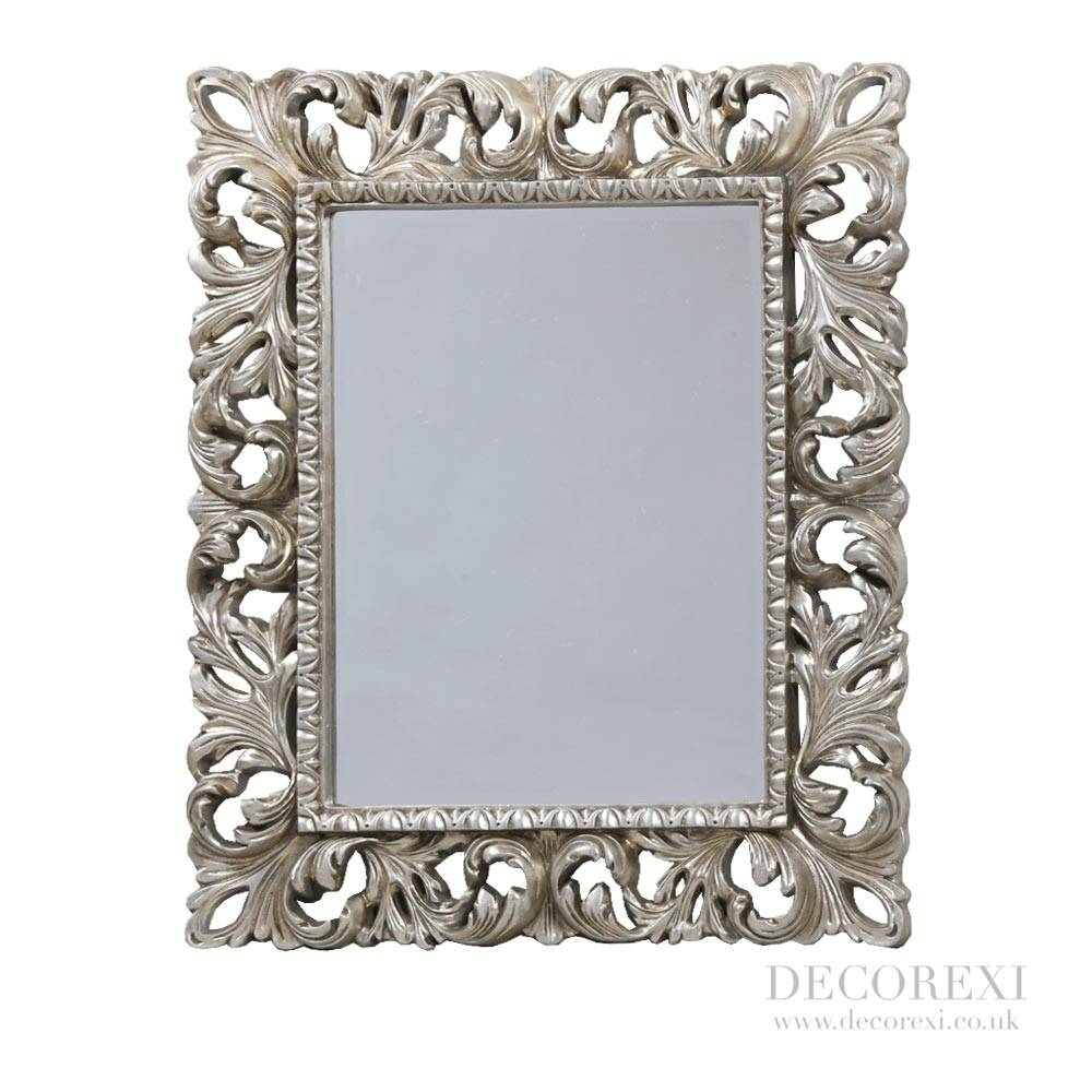 Mirrors That Will Change Your House - In Decors regarding Silver Ornate Framed Mirrors (Image 12 of 25)