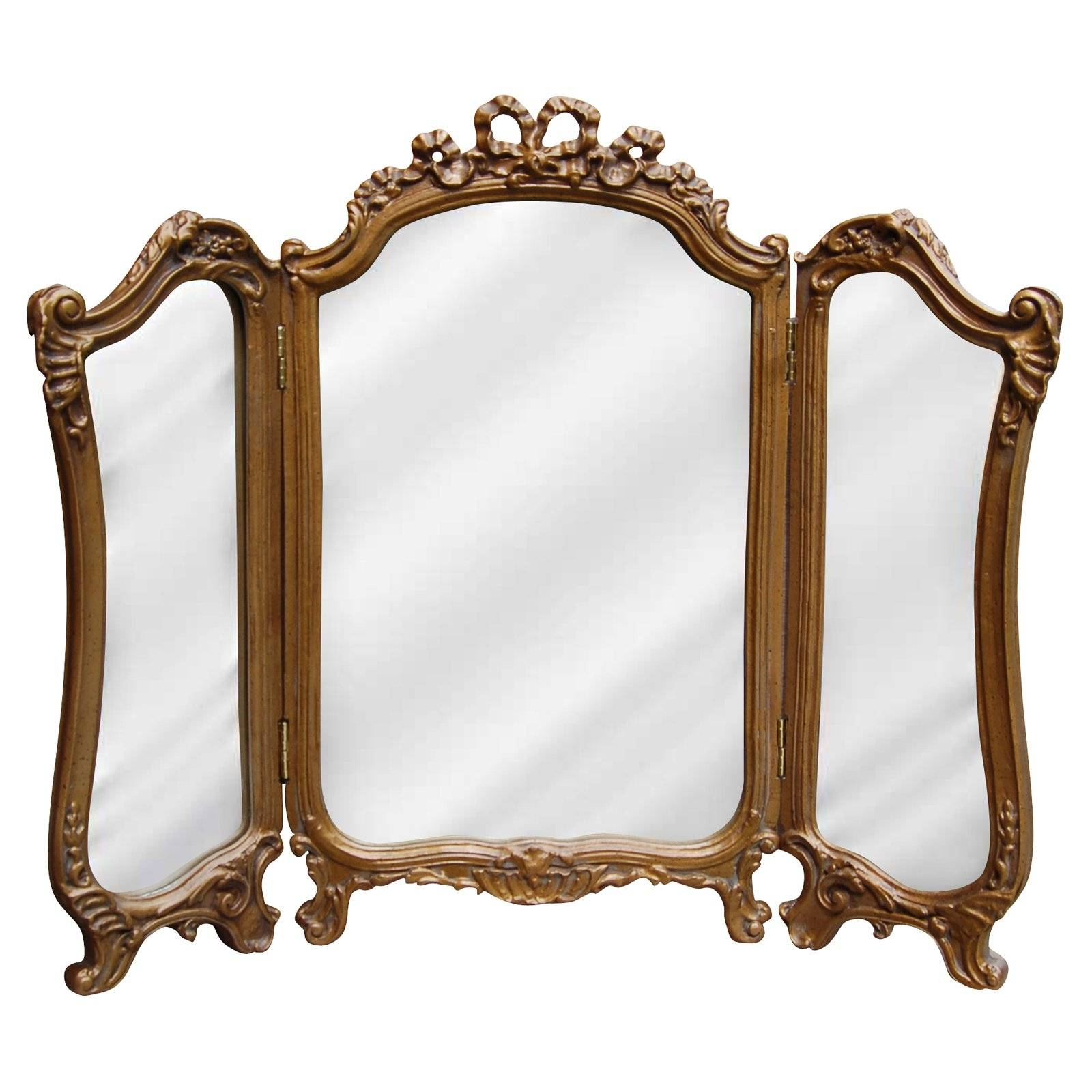 Mirrors – Walmart Pertaining To Small Gold Mirrors (View 16 of 25)