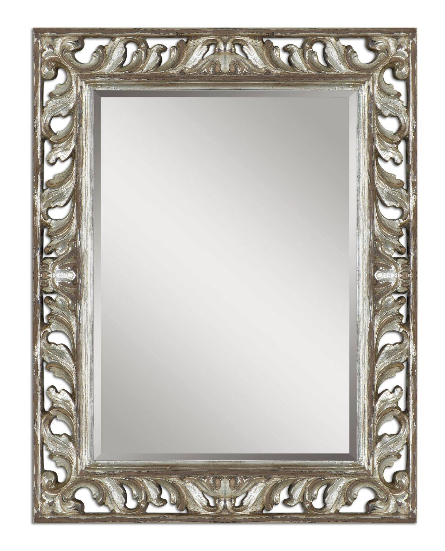 Mirrors You Won't Take Your Eyes Off Of - In Decors regarding Silver Mirrors (Image 12 of 25)