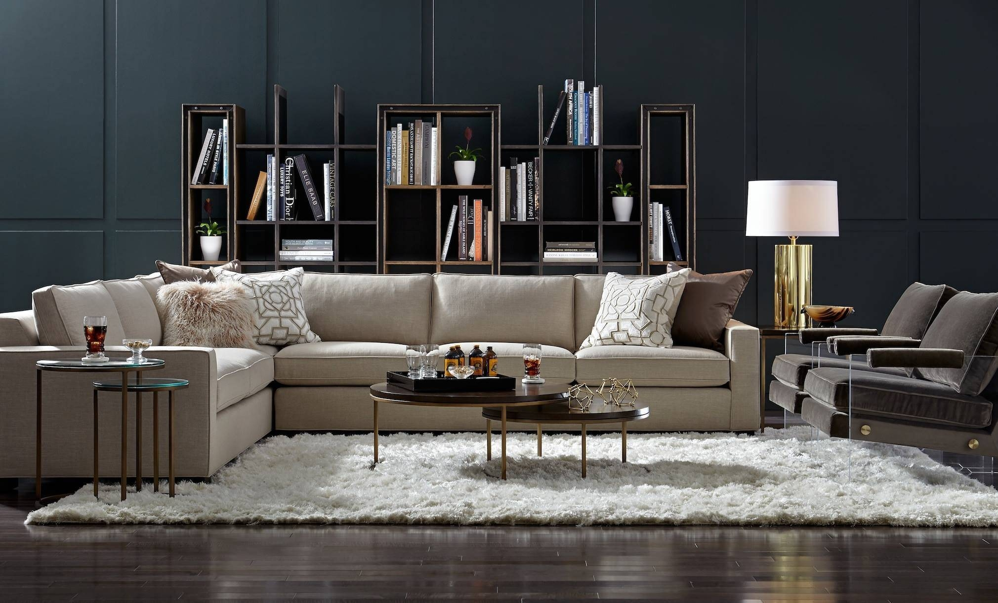 Mitchell Gold + Bob Williams Fall Collection: Masters Of Modern within Gold Sectional Sofa (Image 15 of 25)