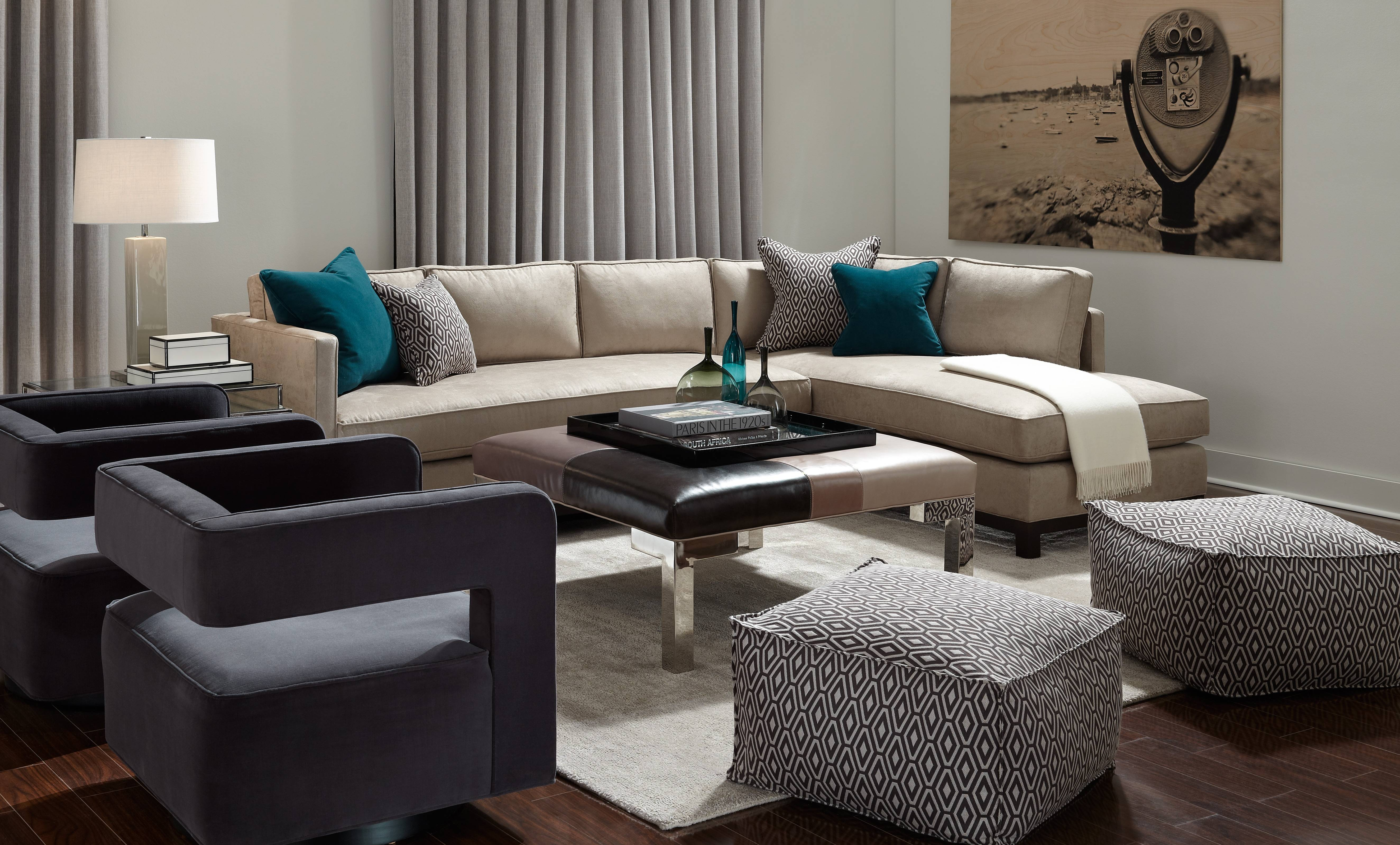 Mitchell Gold Clifton Sectional Sofa - Cleanupflorida for Gold Sectional Sofa (Image 16 of 25)