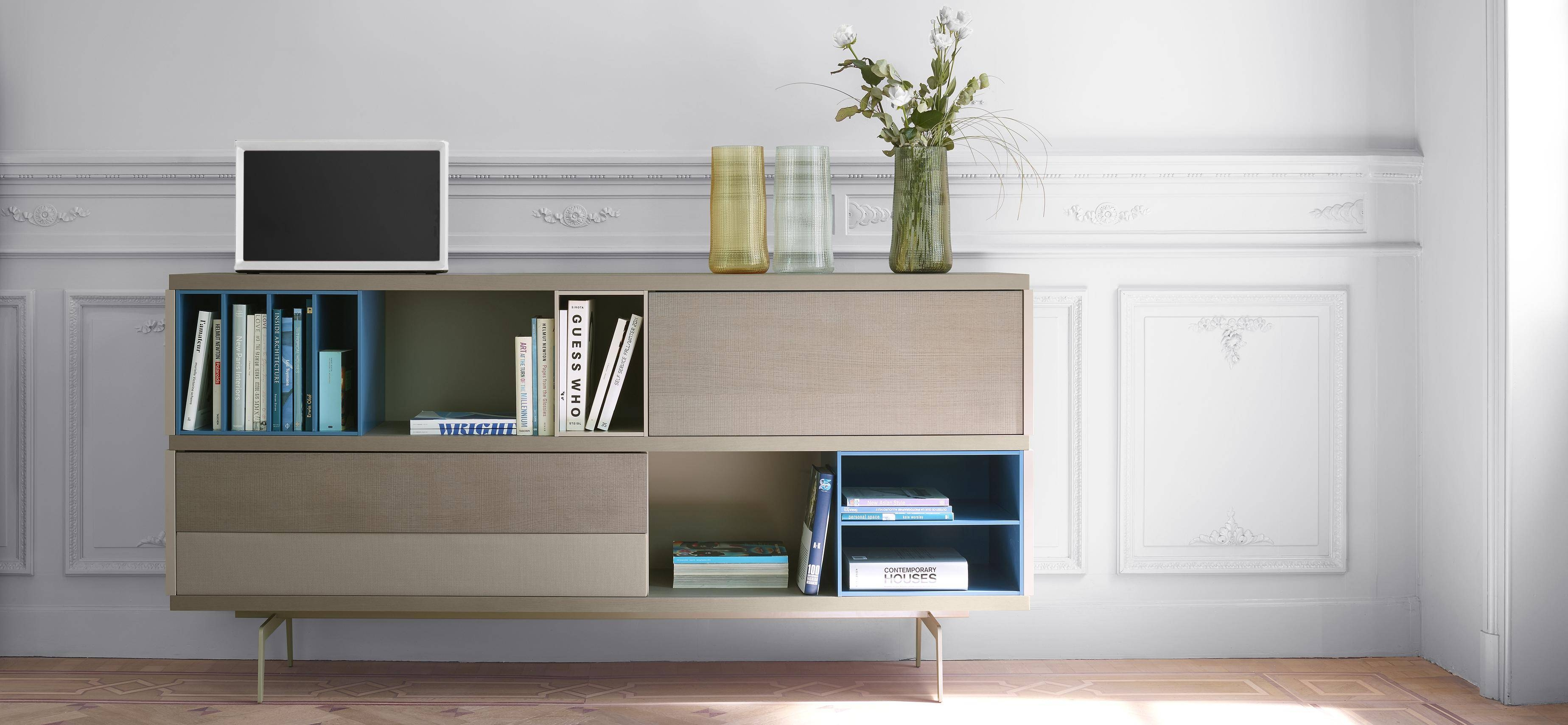Mixte Living Room, Sideboards Designer : Mauro Lipparini | Ligne Roset pertaining to Sideboards For Living Room (Image 17 of 30)
