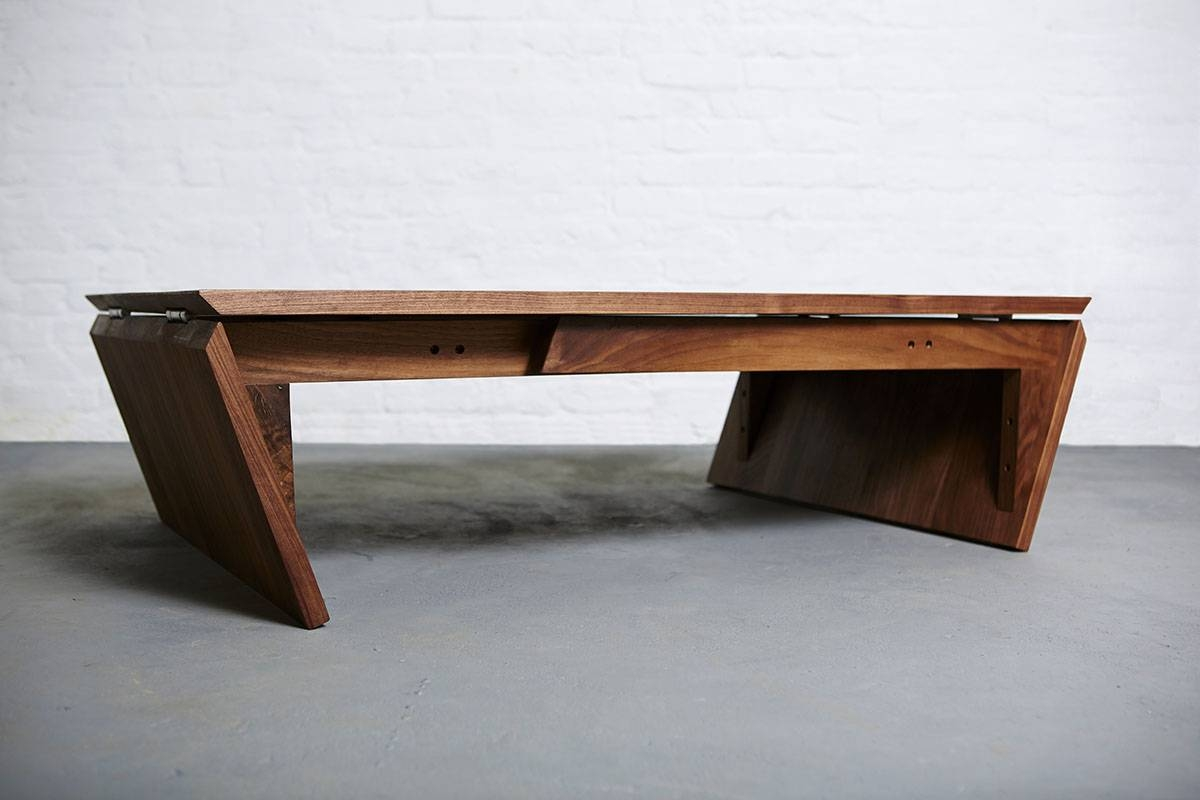 Mk1 Transforming Coffee Table - Duffy London regarding Dining Coffee Tables (Image 11 of 15)
