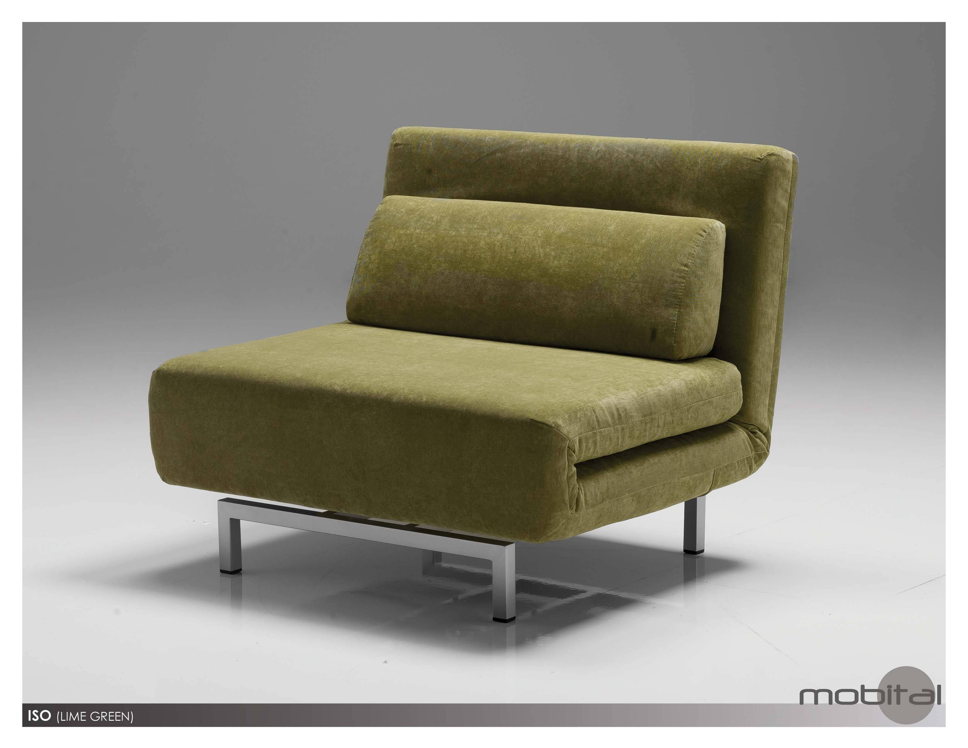 Mobital Iso-Sofabed Single Modern Furnishings intended for Single Chair Sofa Bed (Image 11 of 30)
