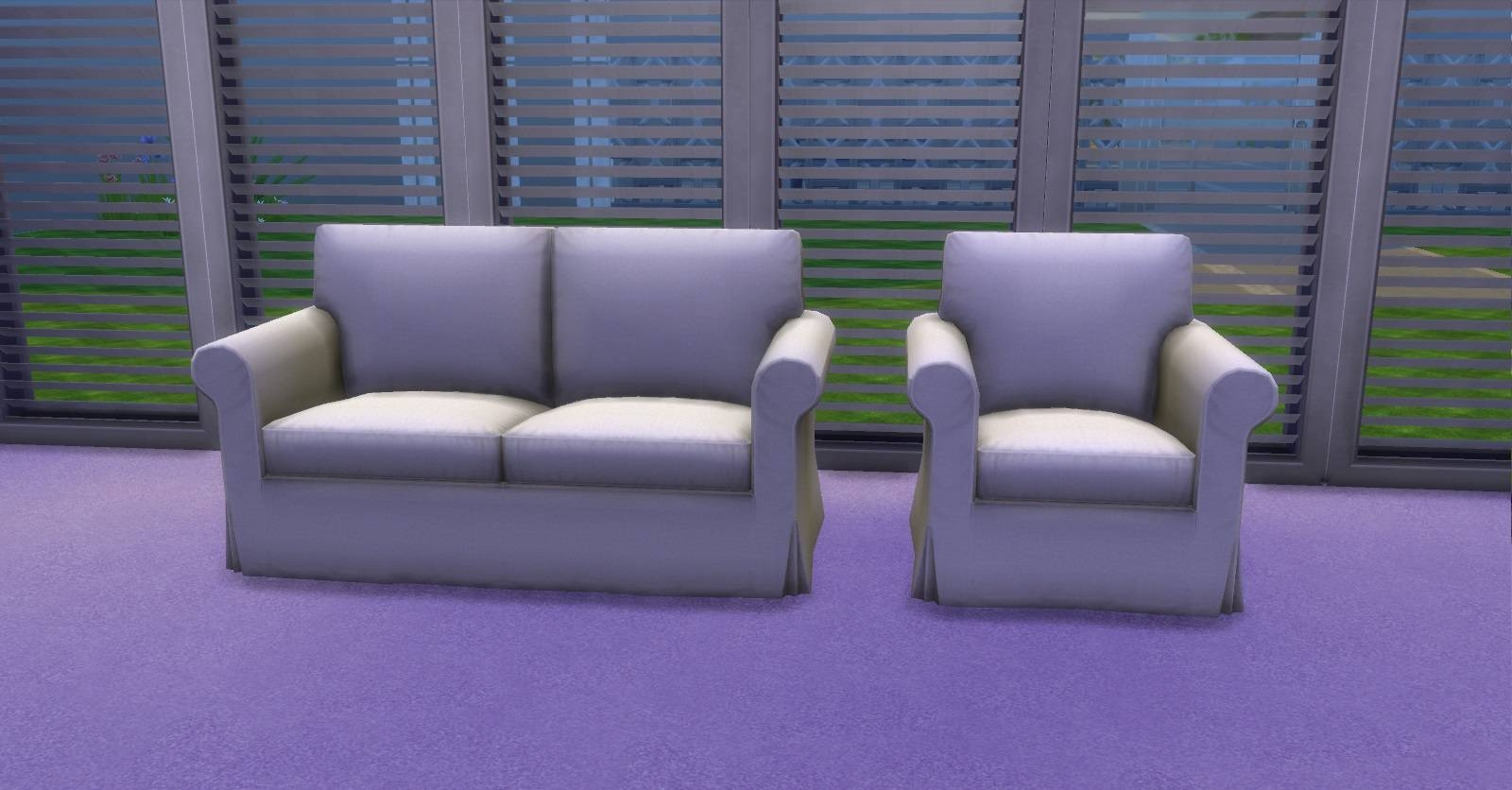 Mod The Sims - Ektorp Chair And Sofas in Mod Sofas (Image 5 of 30)