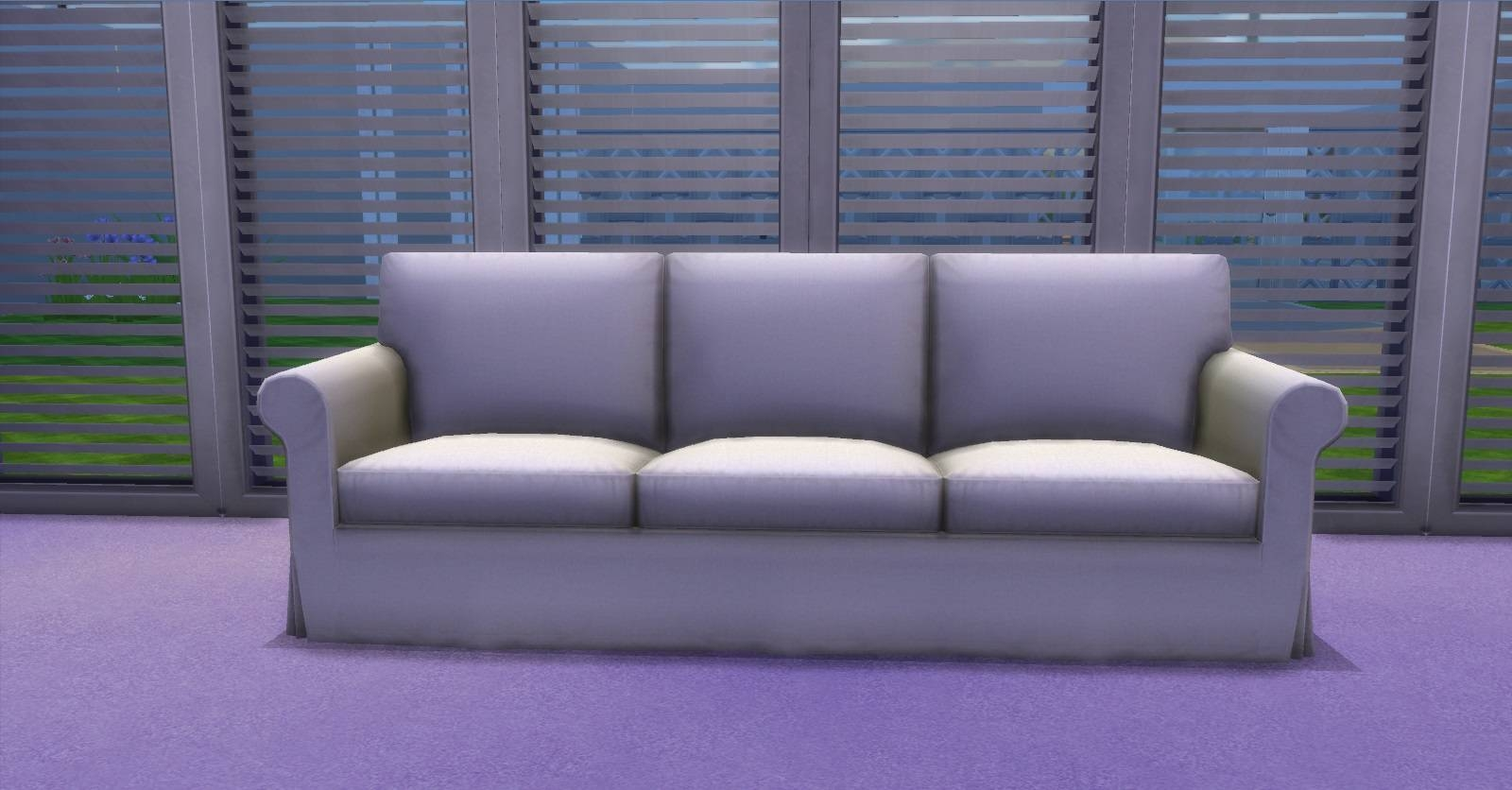 Mod The Sims - Ektorp Chair And Sofas with Mod Sofas (Image 7 of 30)