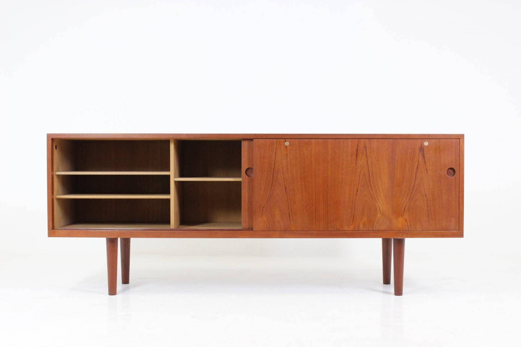 Model Ry26 Low Sideboardhans J. Wegner For Ry Mobler, 1960S with regard to Low Sideboards (Image 18 of 30)