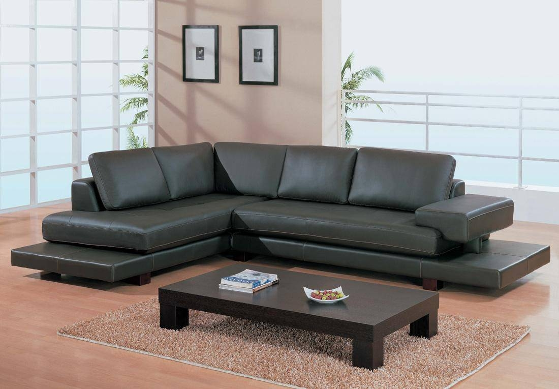 Modern Black Leather Sofa Set - S3Net - Sectional Sofas Sale for Contemporary Black Leather Sofas (Image 18 of 30)