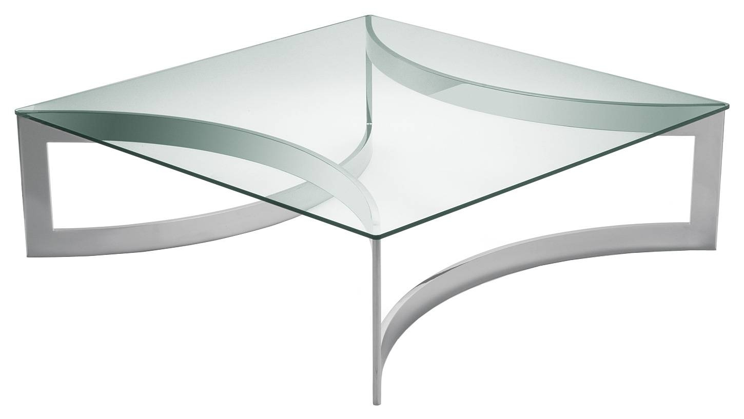 Modern Coffee Tables And Chairs Living Room Ideas Glass Rectangle within Steel And Glass Coffee Tables (Image 20 of 30)