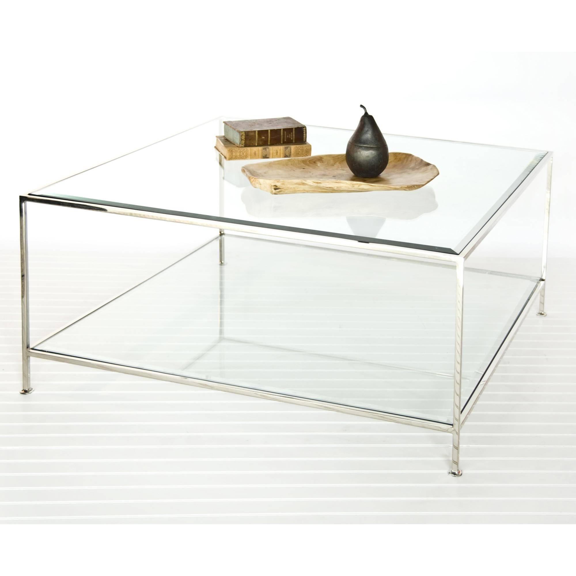 Modern Coffee Tables Canada. Accent Tables Larkin Coffee Table intended for Glass Square Coffee Tables (Image 21 of 30)