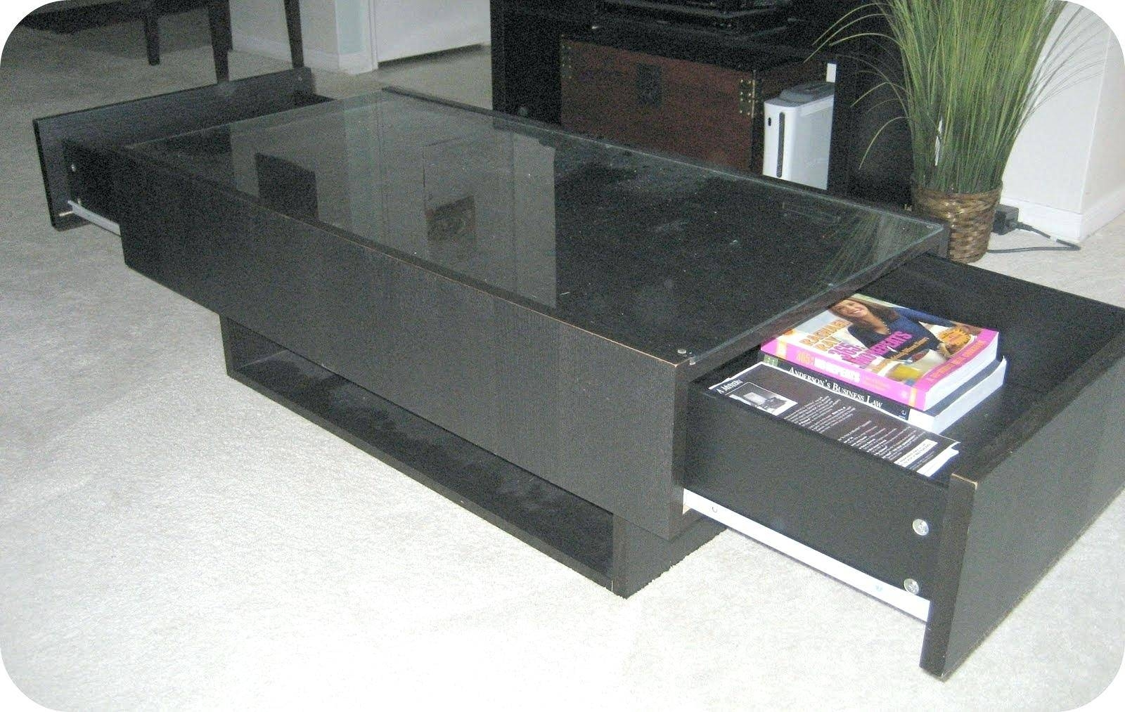 Modern Coffee Tables With Storage Uk Table Ikea Glass Top within Glass Top Storage Coffee Tables (Image 24 of 30)