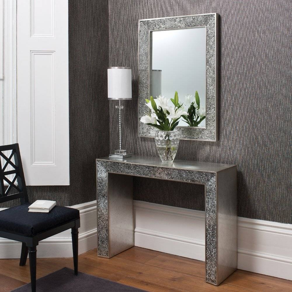 Modern Console Table With Mirror 143 Unique Decoration And inside Contemporary Hall Mirrors (Image 24 of 25)