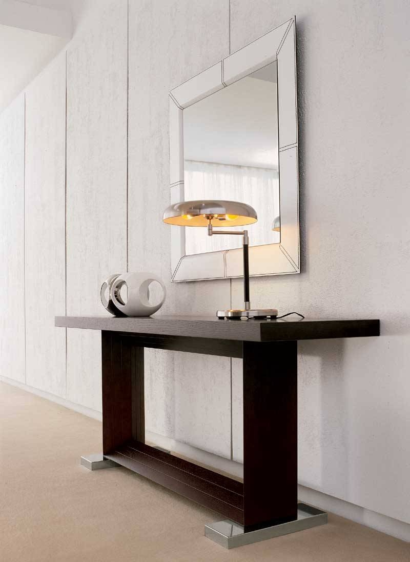 Modern Console Table With Mirror 143 Unique Decoration And intended for Contemporary Hall Mirrors (Image 25 of 25)