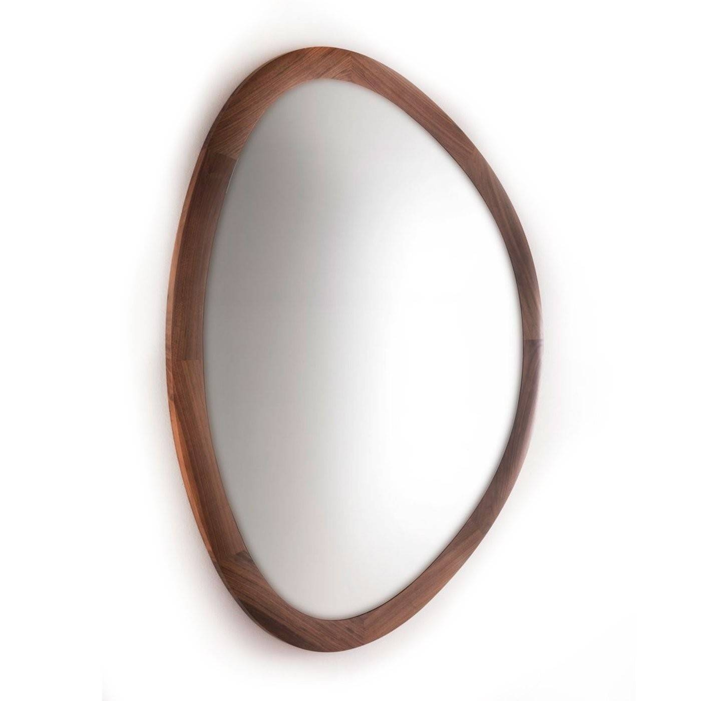 Modern Contemporary Mirrors | Heal's inside Silver Oval Wall Mirrors (Image 15 of 25)