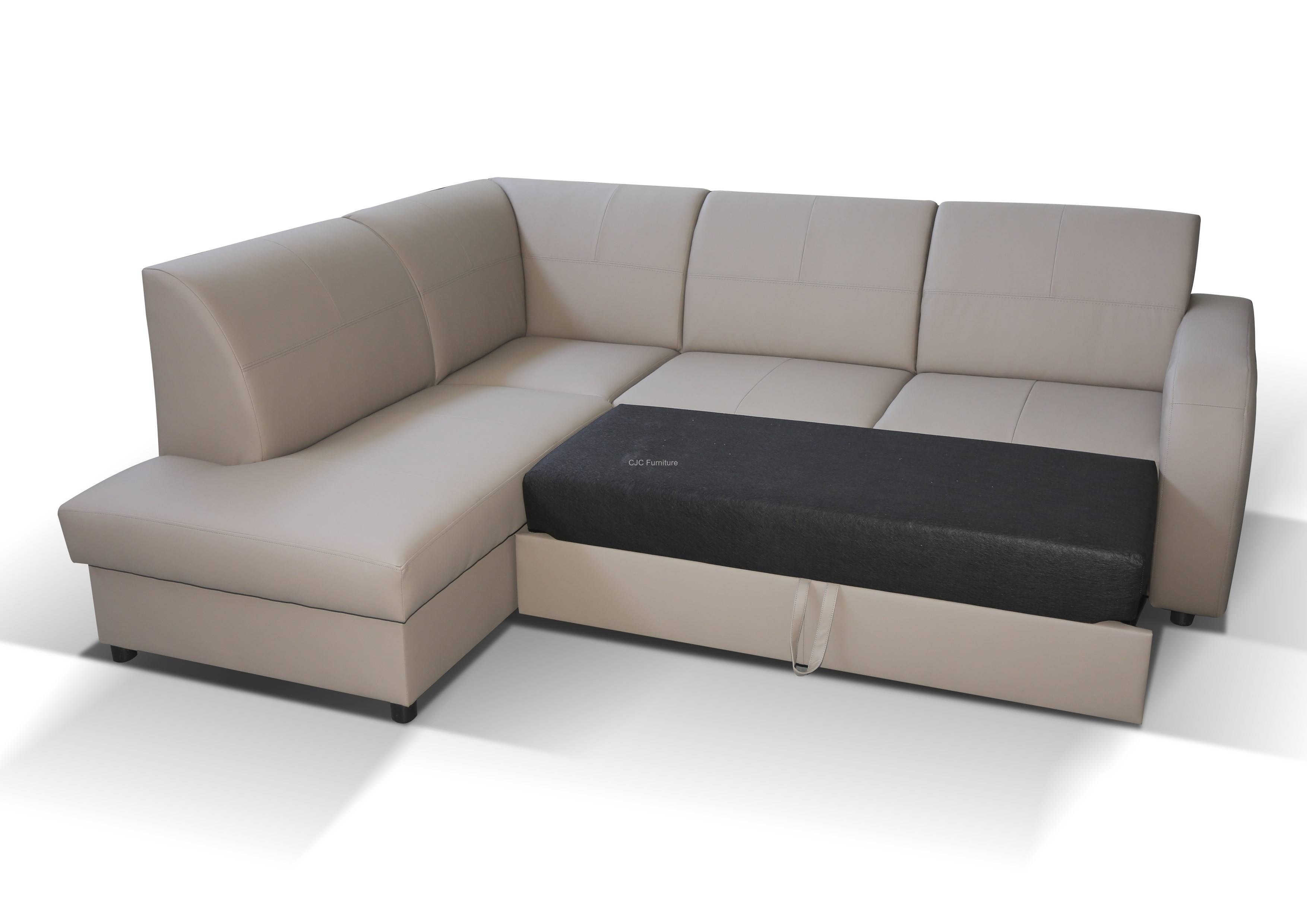 Modern Corner Sofa Bed With Storage | Eva Furniture with Sofa Beds With Storages (Image 21 of 30)