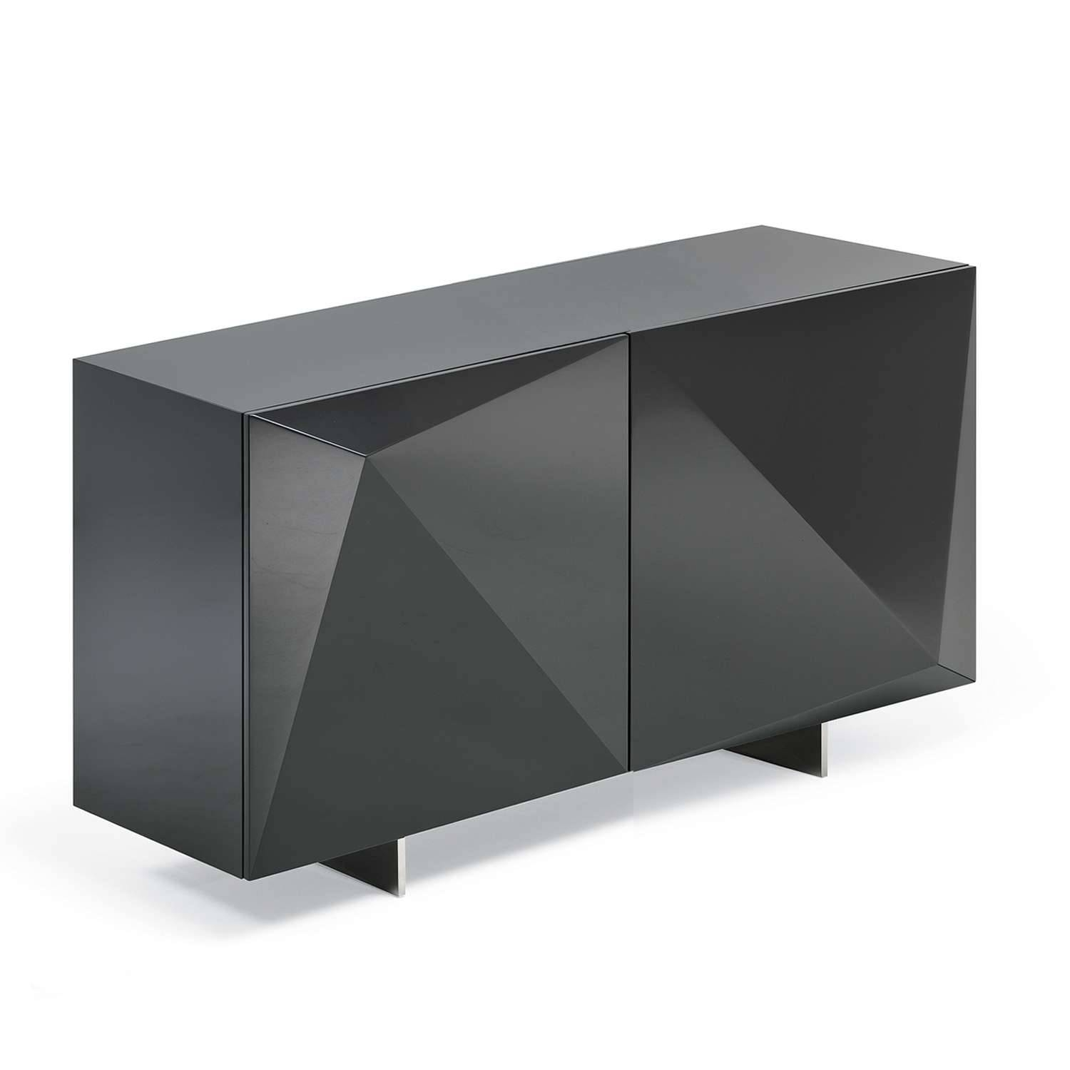 Modern Credenzas, Modern Sideboards & Buffets | Yliving for Black Gloss Sideboards (Image 22 of 30)