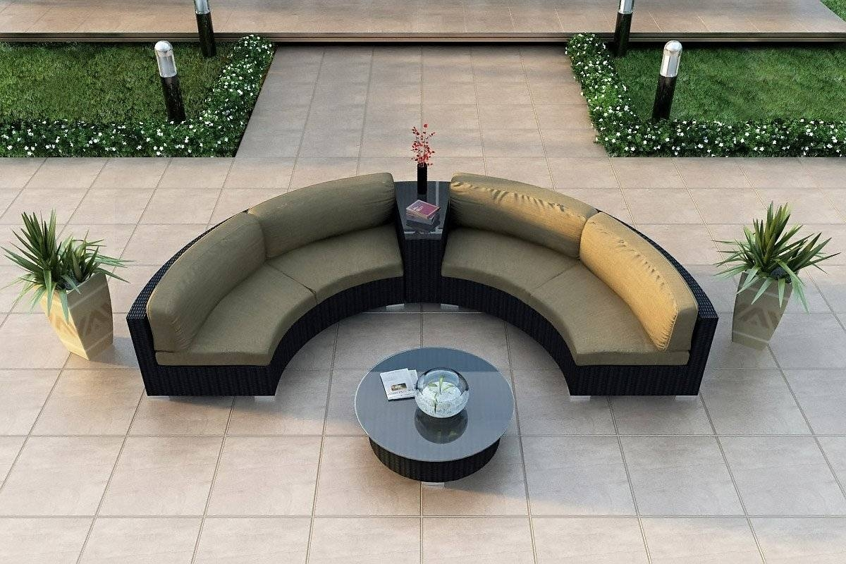 Modern Curved Sofa And Circular Curved Sectional Sofa Contemporary pertaining to Contemporary Curved Sofas (Image 26 of 30)