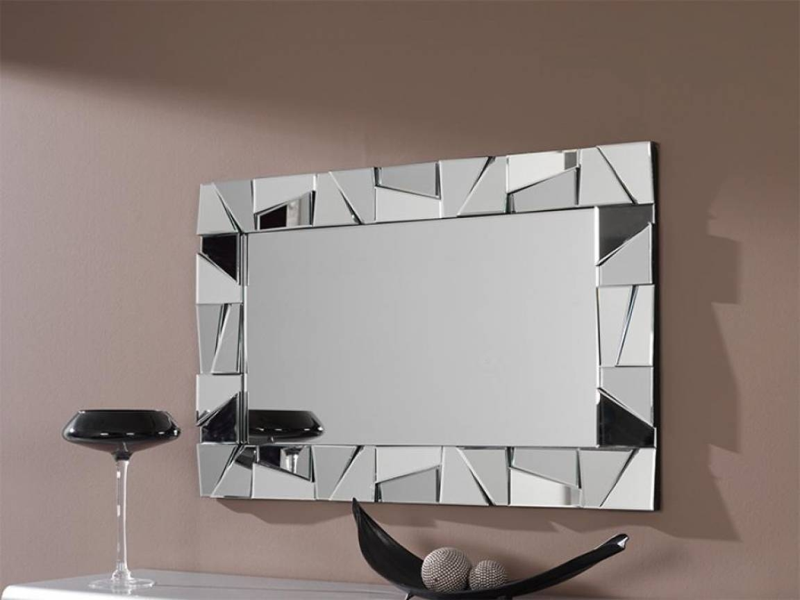 Modern Decorative Wall Mirrors – Harpsounds.co regarding Contemporary Wall Mirrors (Image 22 of 25)