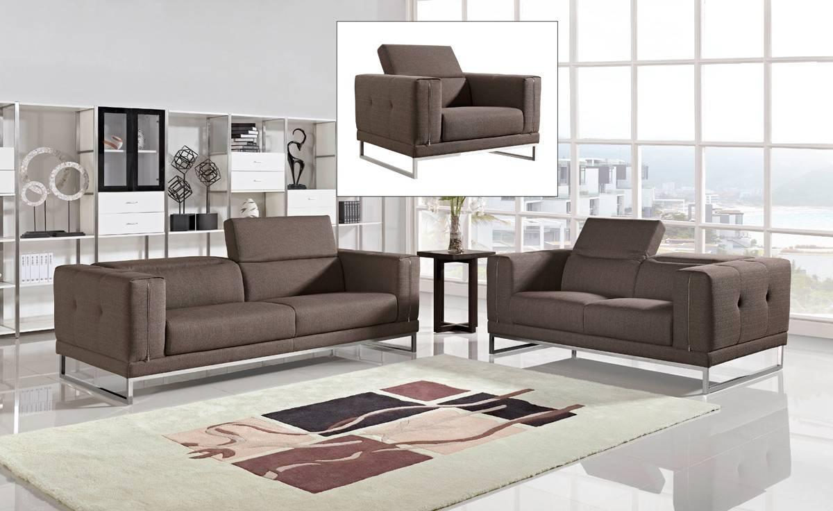 Modern Fabric Sofas And Fabric Couches pertaining to Contemporary Fabric Sofas (Image 14 of 30)
